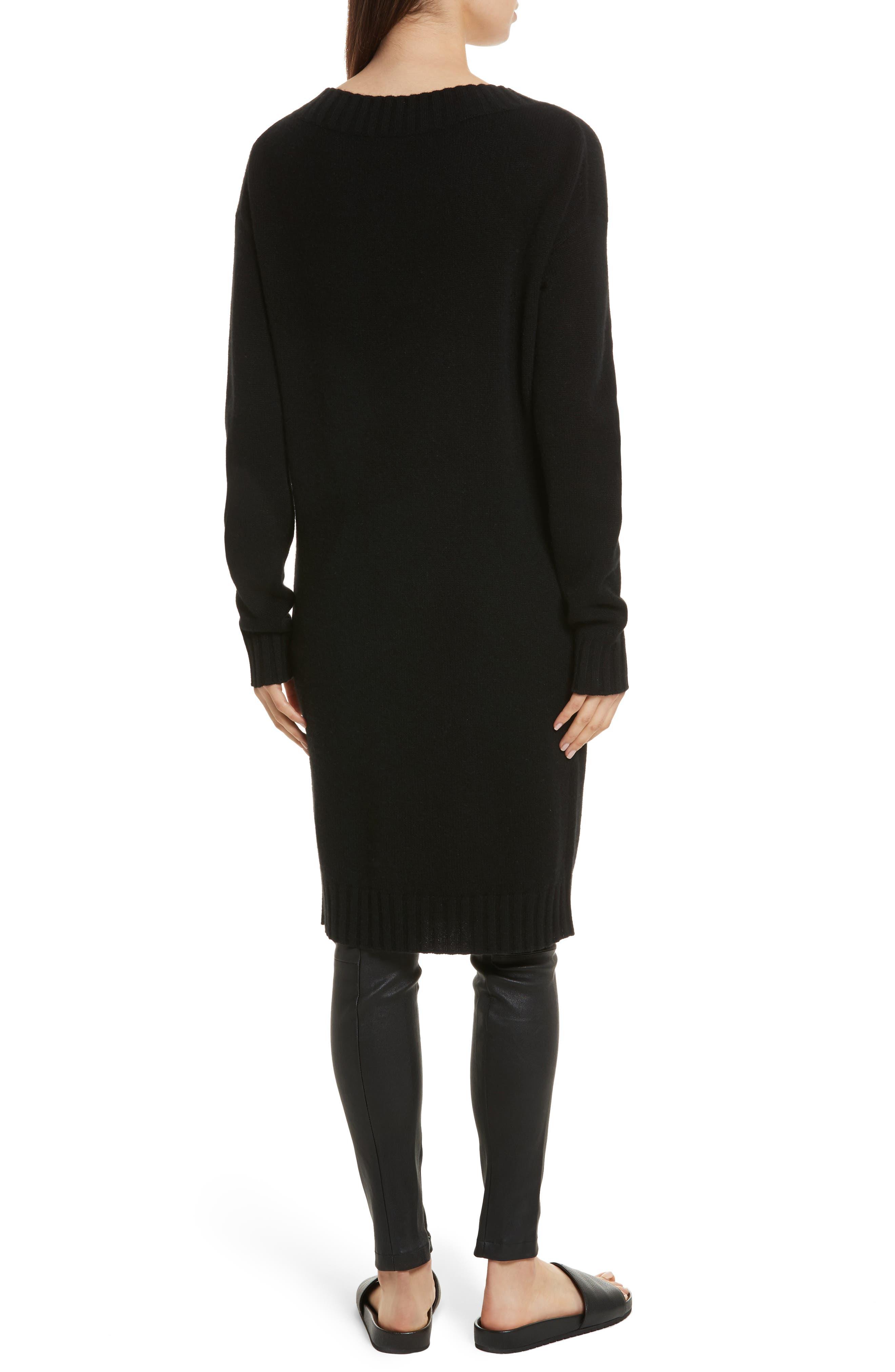 Alternate Image 2  - Vince Off the Shoulder Wool & Cashmere Sweater Dress