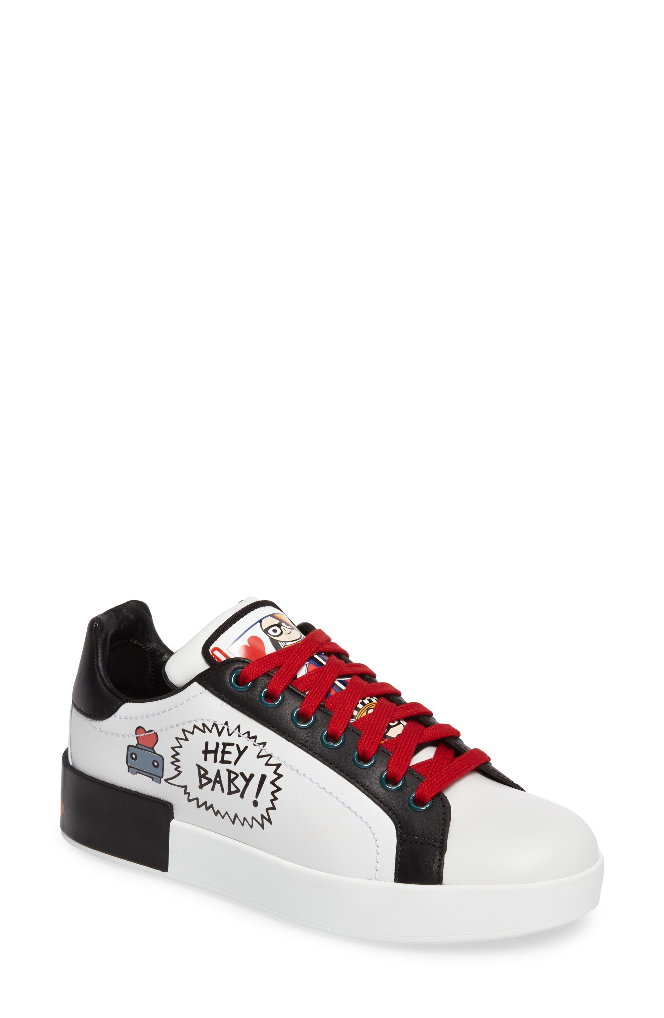 Alternate Image 1 Selected - Dolce&Gabbana Cartoon Sneaker (Women)