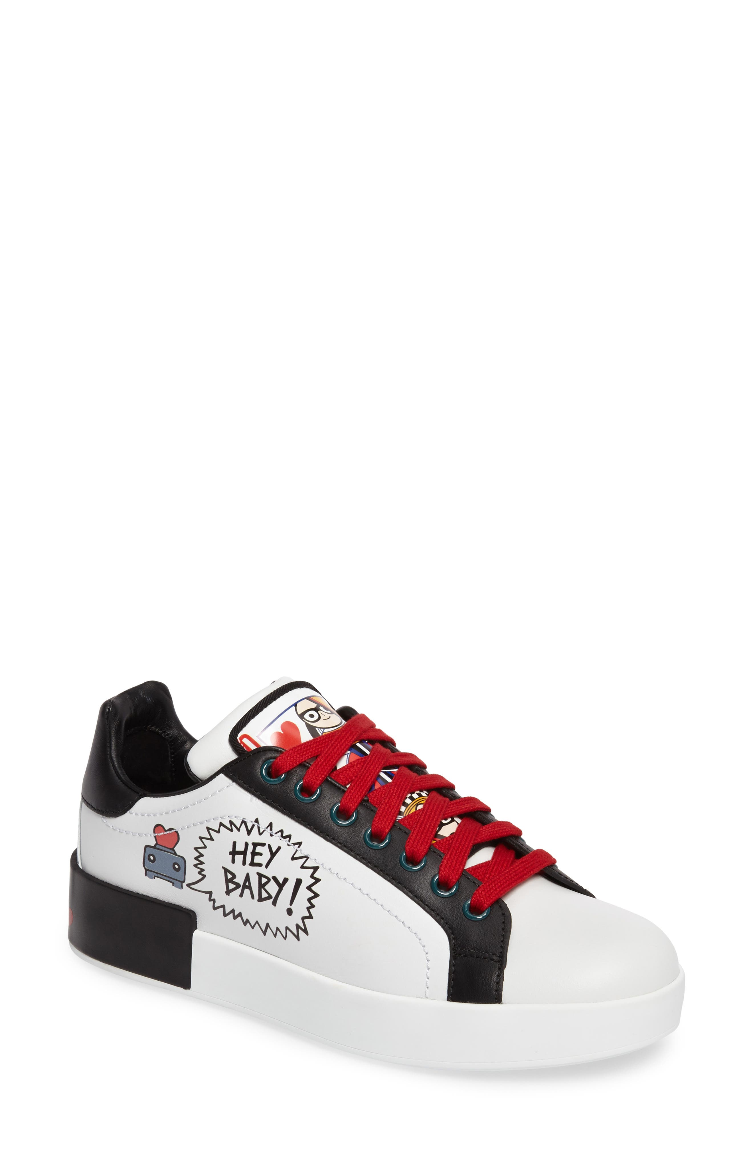 Main Image - Dolce&Gabbana Cartoon Sneaker (Women)