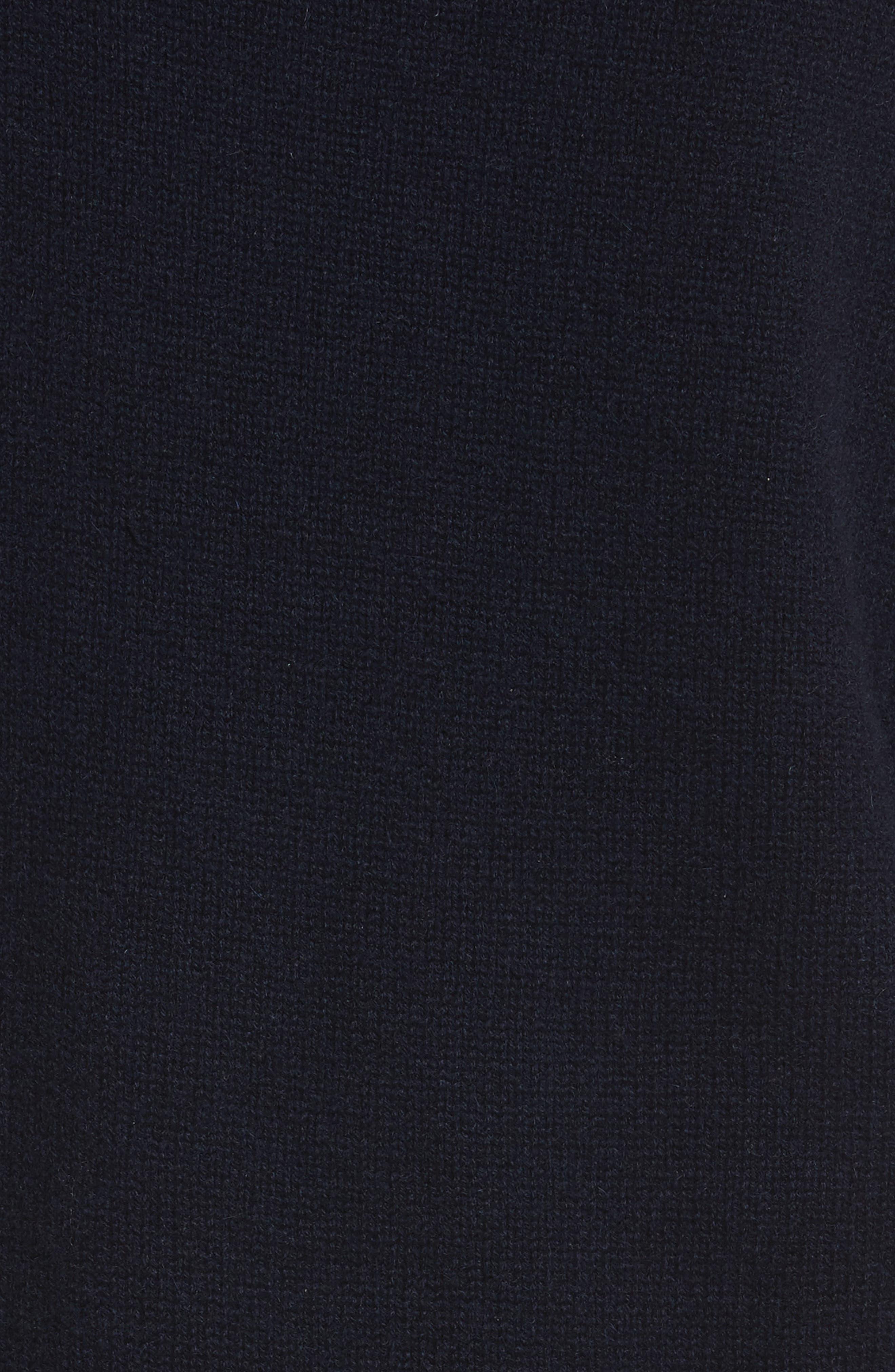 Alternate Image 5  - Vince Off the Shoulder Wool & Cashmere Sweater