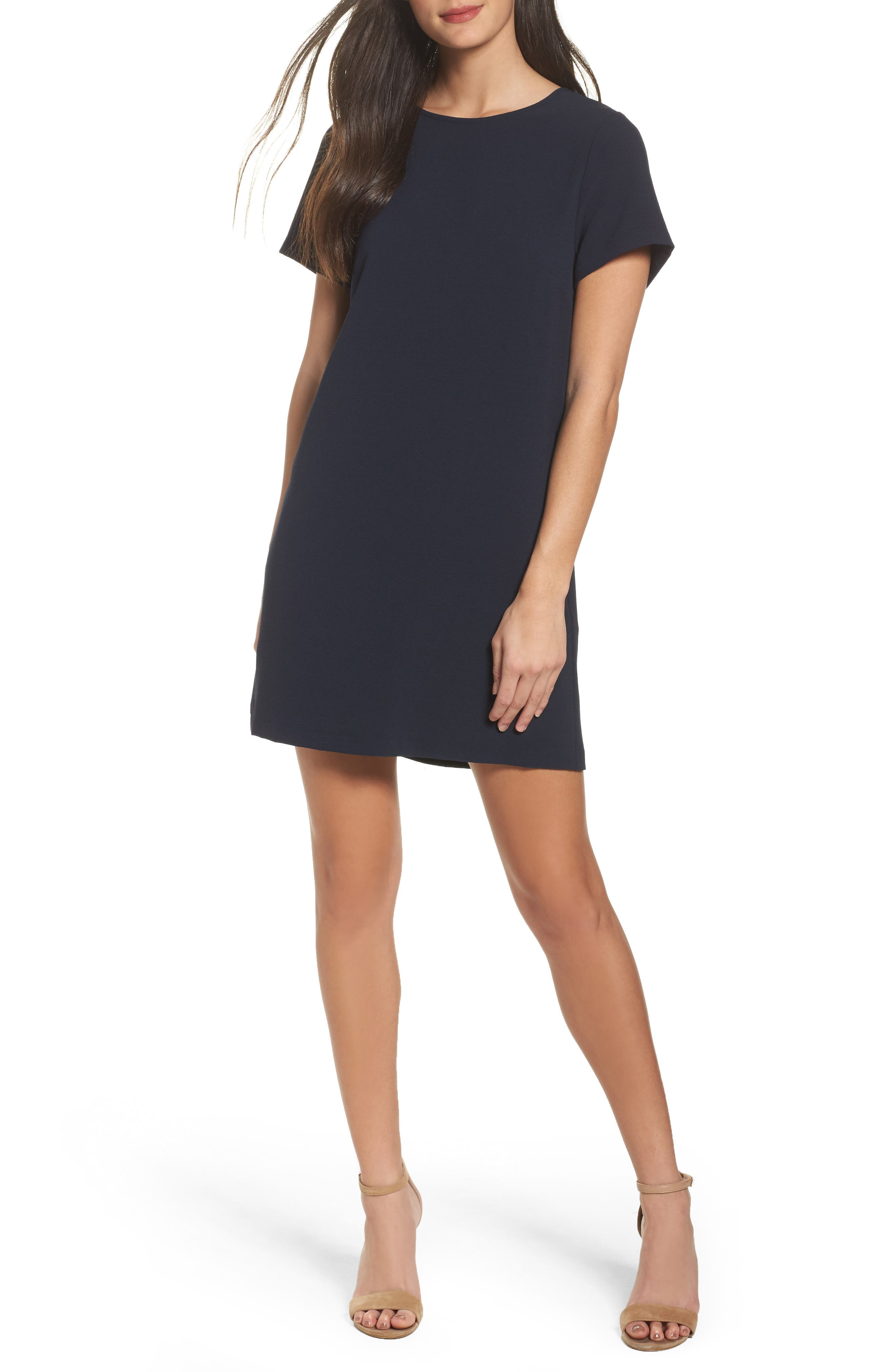 Felicity & Coco Devery Crepe Shift Dress (Nordstrom Exclusive)