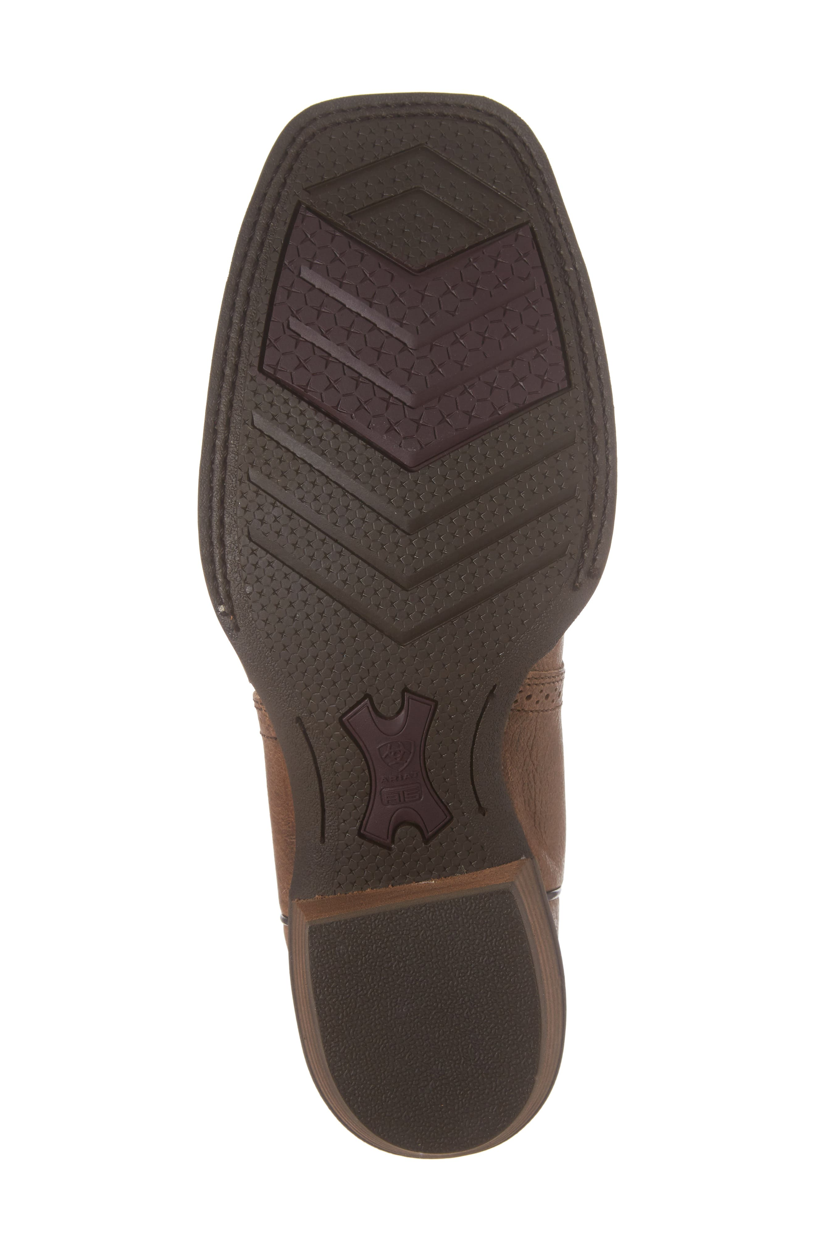 Heritage Hot Shot Cowboy Boot,                             Alternate thumbnail 6, color,                             Brown