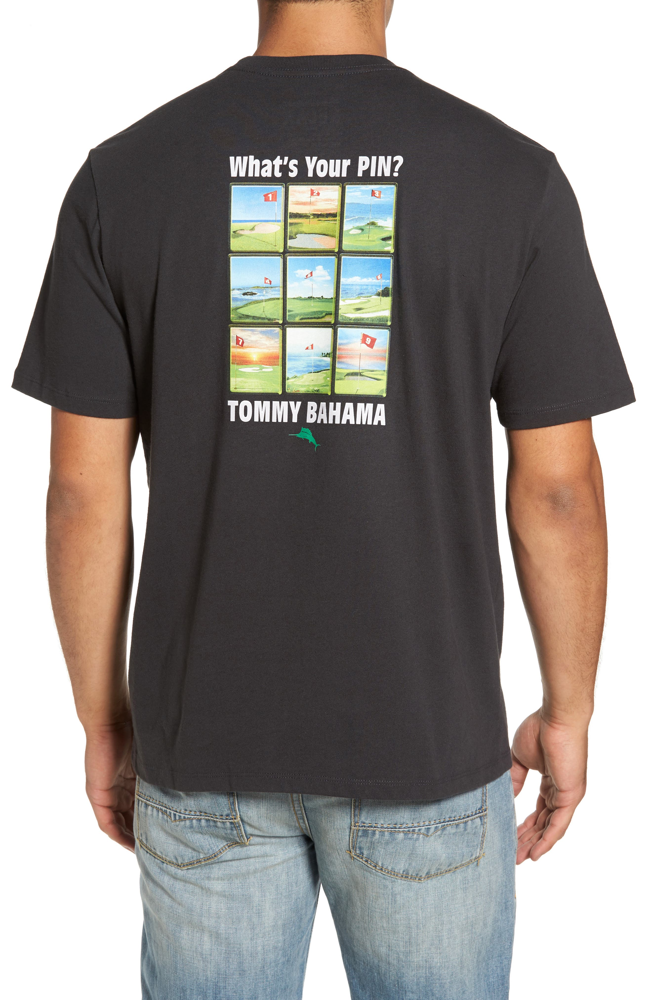 Alternate Image 1 Selected - Tommy Bahama What's Your Pin Graphic T-Shirt