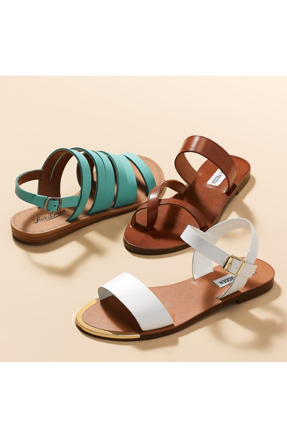 'Rillie' Two Strap Sandal,                             Alternate thumbnail 5, color,