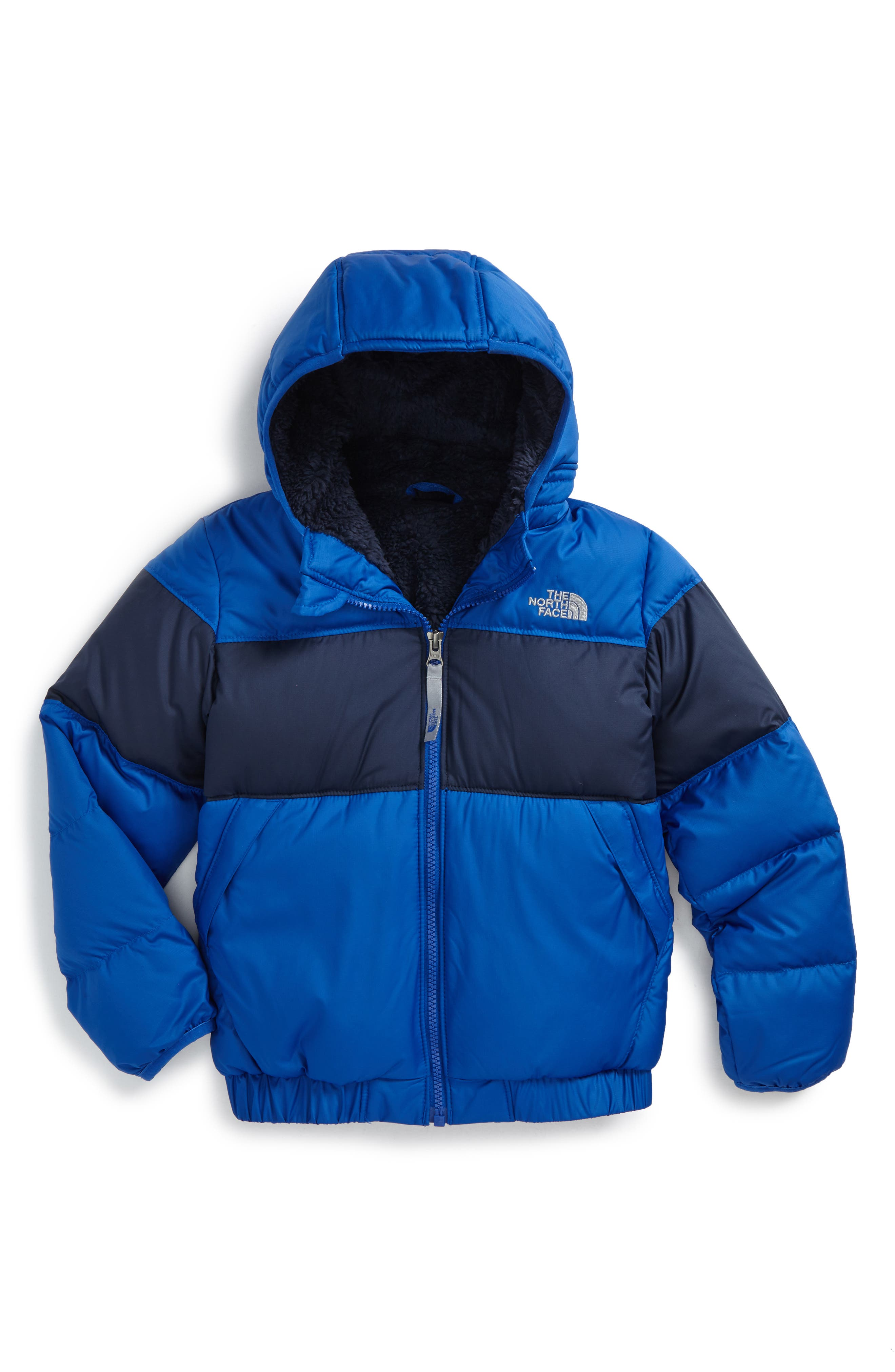 Moondoggy 2.0 Water Repellent Down Jacket,                             Main thumbnail 1, color,                             Bright Cobalt Blue