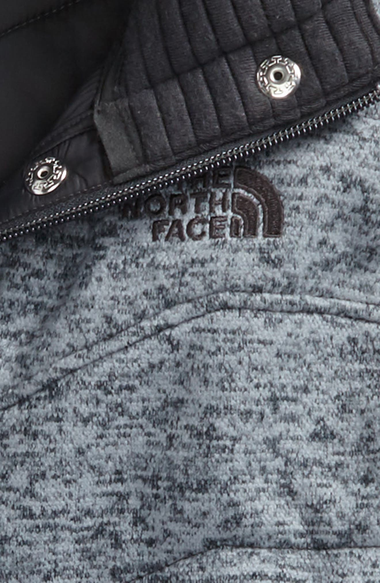 Alternate Image 2  - The North Face Indi 2 Hooded Knit Parka (Big Girls)