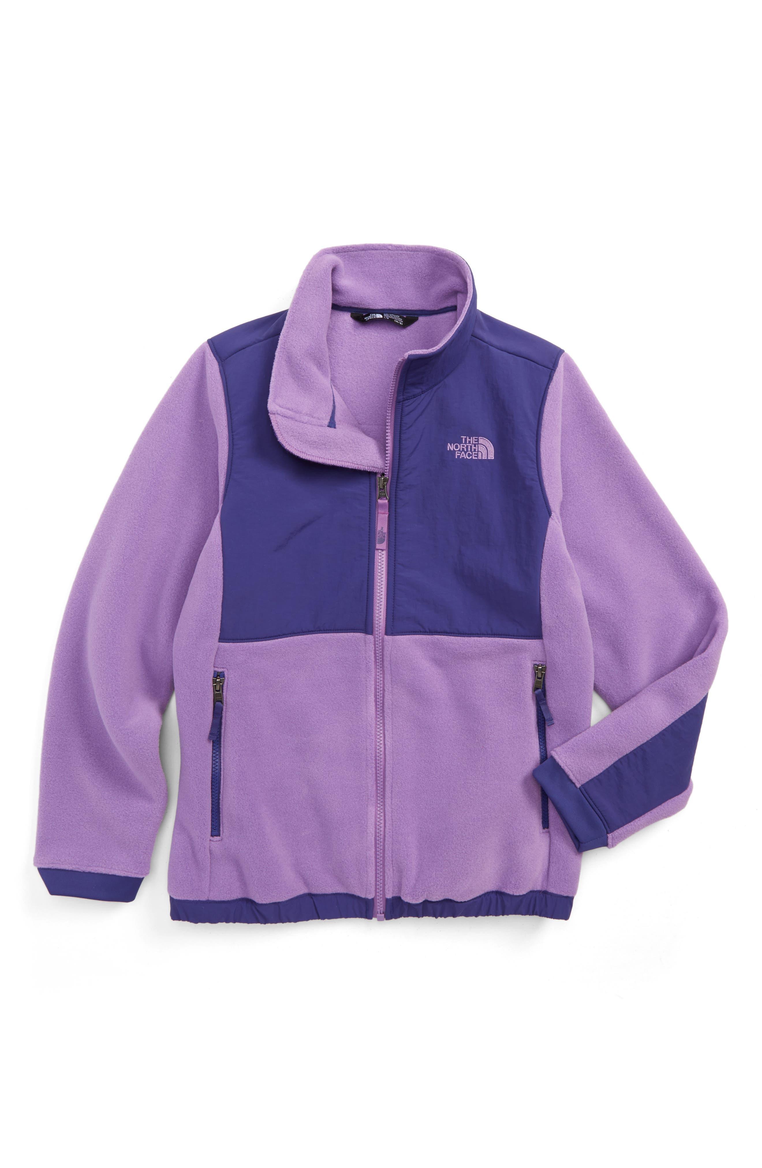 Alternate Image 1 Selected - The North Face Denali Jacket (Little Girls & Big Girls)