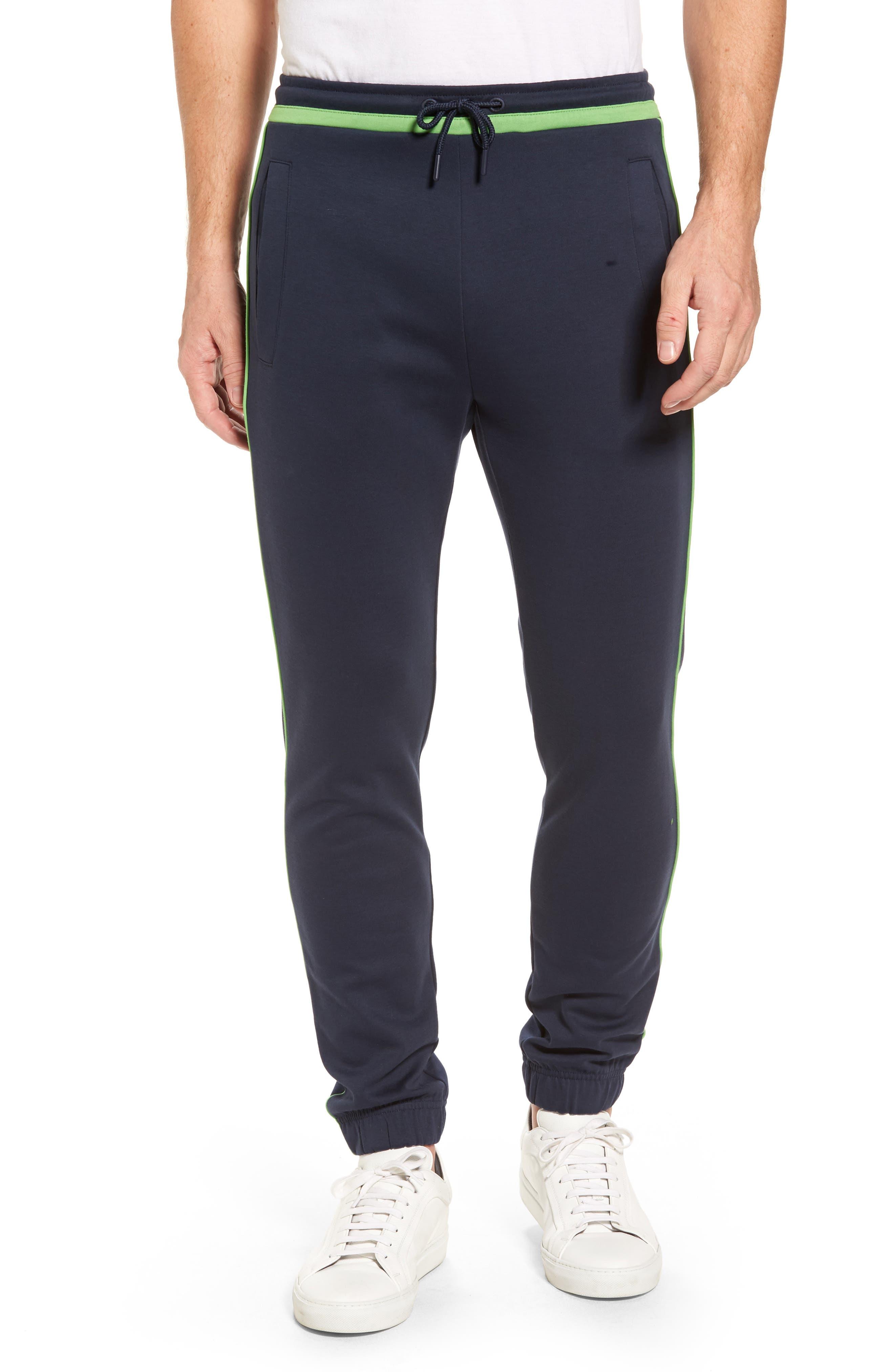 BOSS Green Contrast Detail Sweatpants