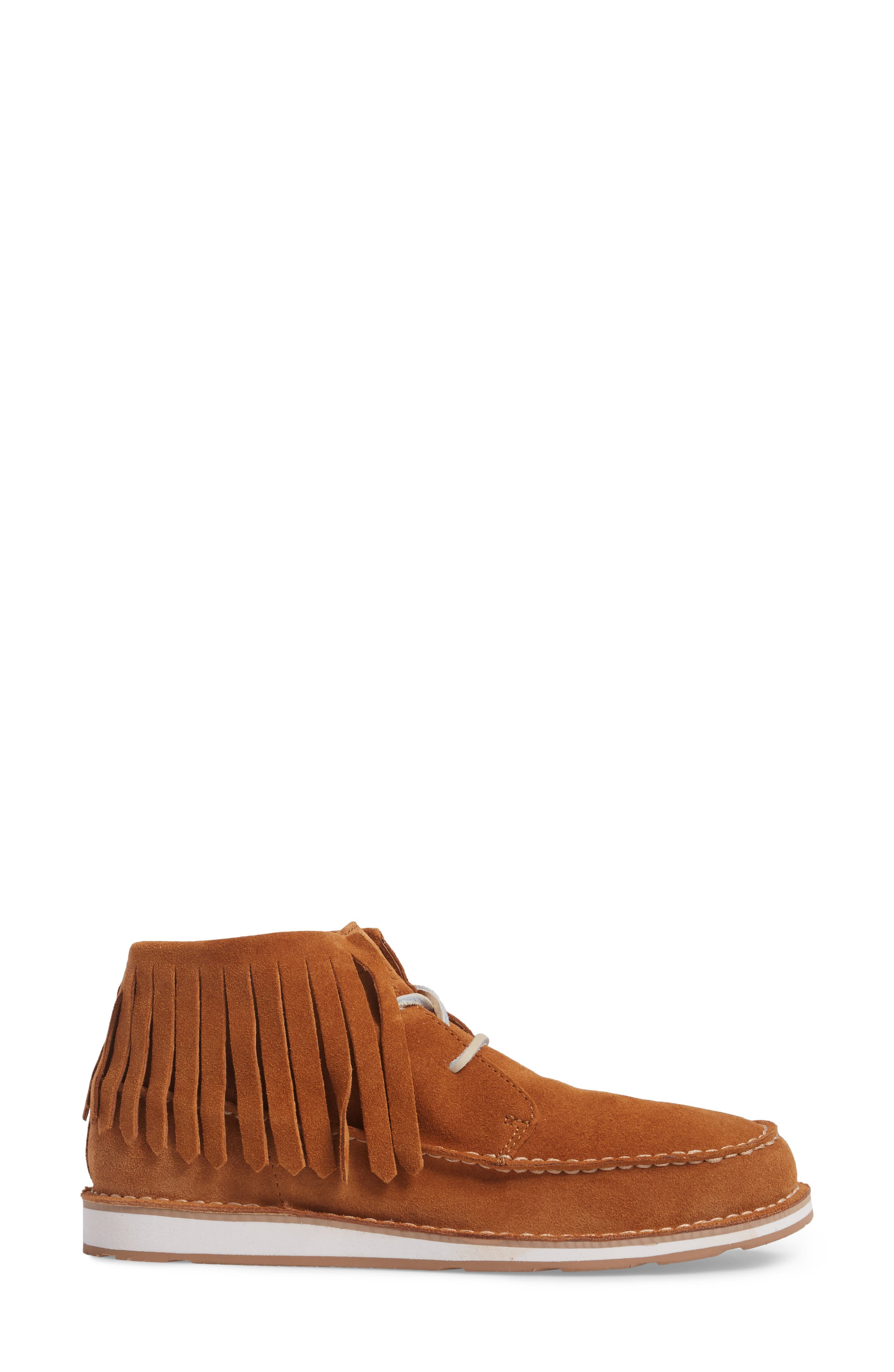 Alternate Image 3  - Ariat Cruiser Fringe Chukka Boot (Women)