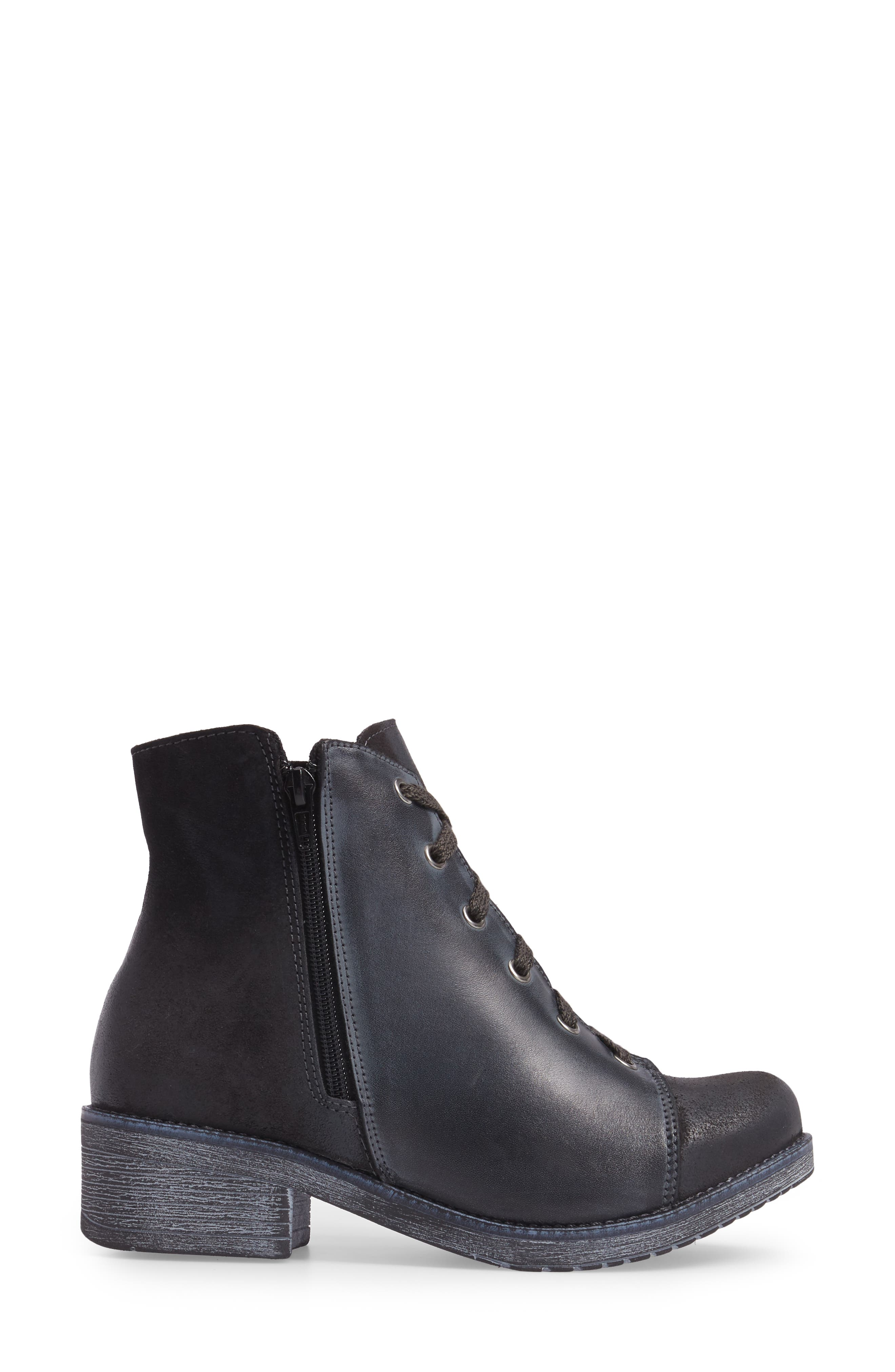Alternate Image 3  - Naot Groovy Lace Up Bootie (Women)