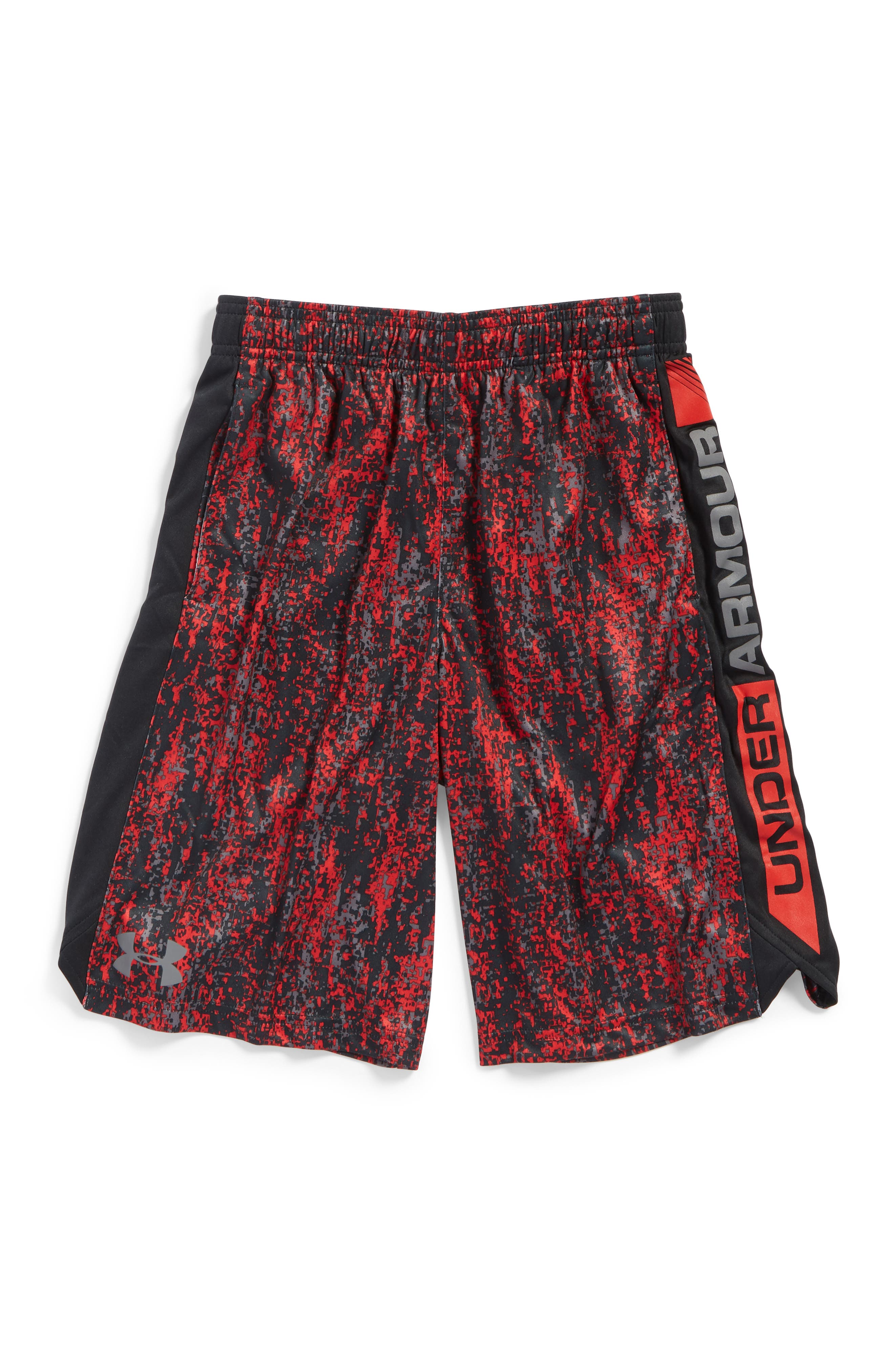 Main Image - Under Armour Eliminator Athletic HeatGear® Shorts (Little Boys & Big Boys)