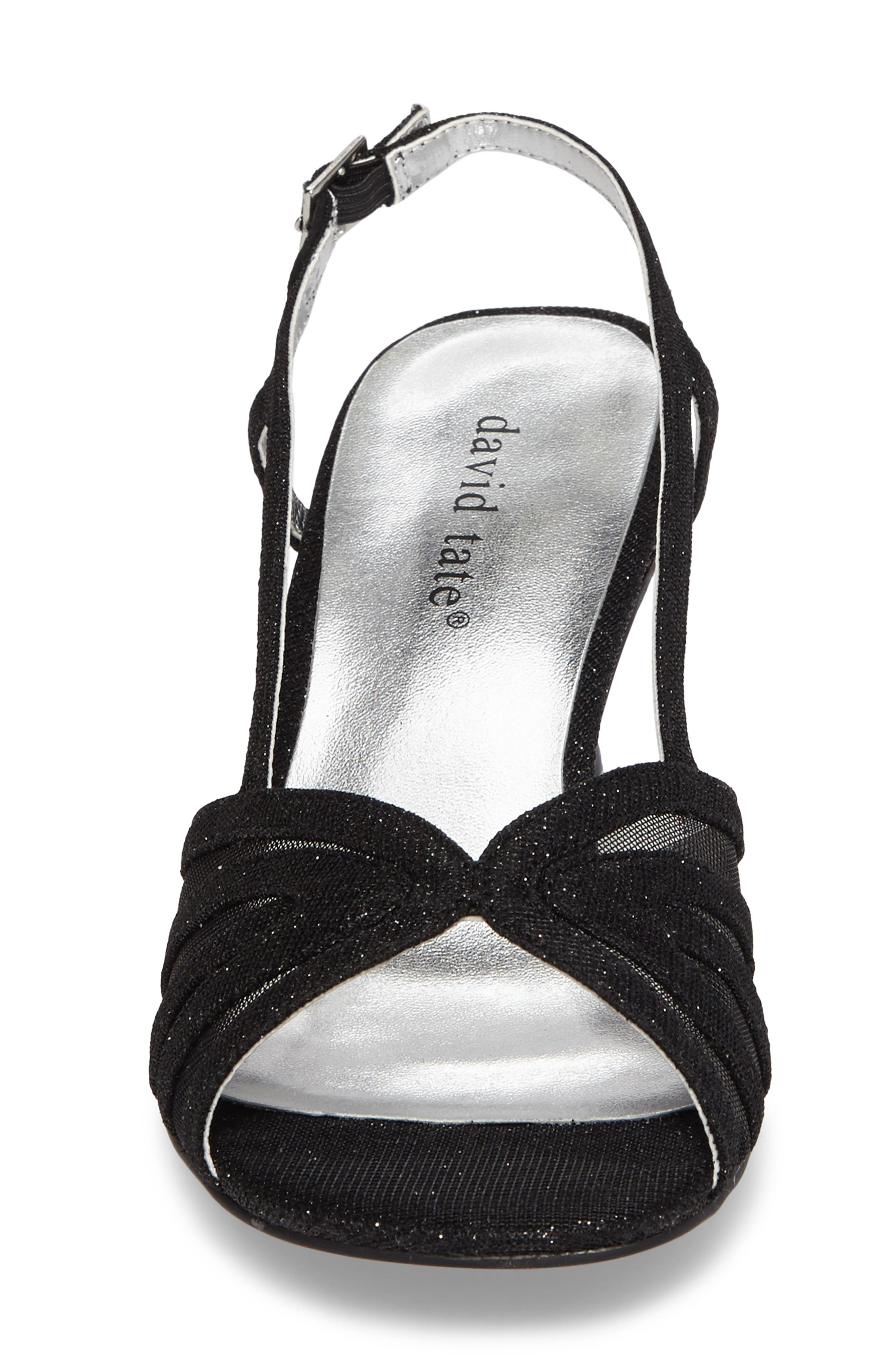 Ritz Slingback Sandal,                             Alternate thumbnail 4, color,                             Black