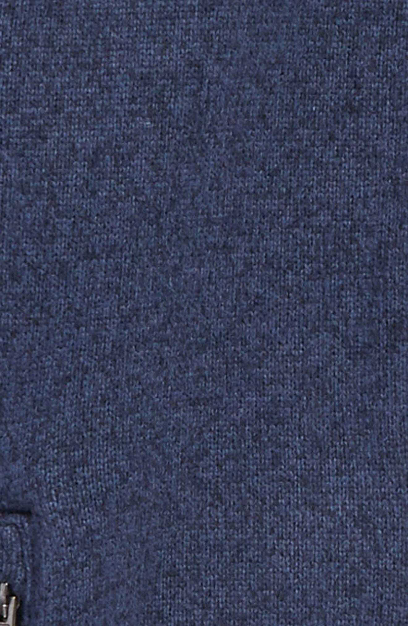 Gordon Lyons Sweater Fleece Zip Jacket,                             Alternate thumbnail 2, color,                             Cosmic Blue Heather