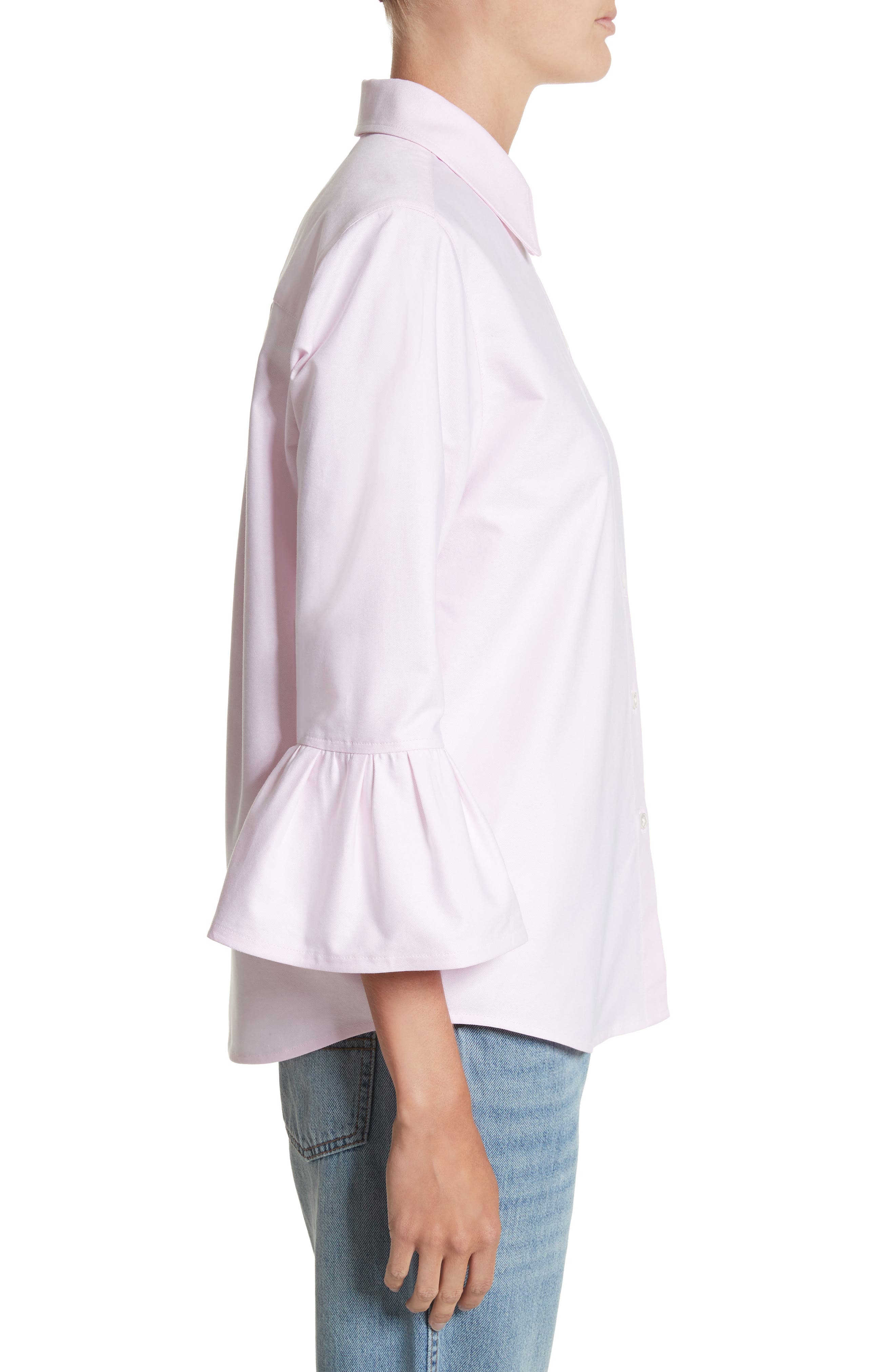 Alternate Image 3  - MARC JACOBS Bell Sleeve Cotton Top