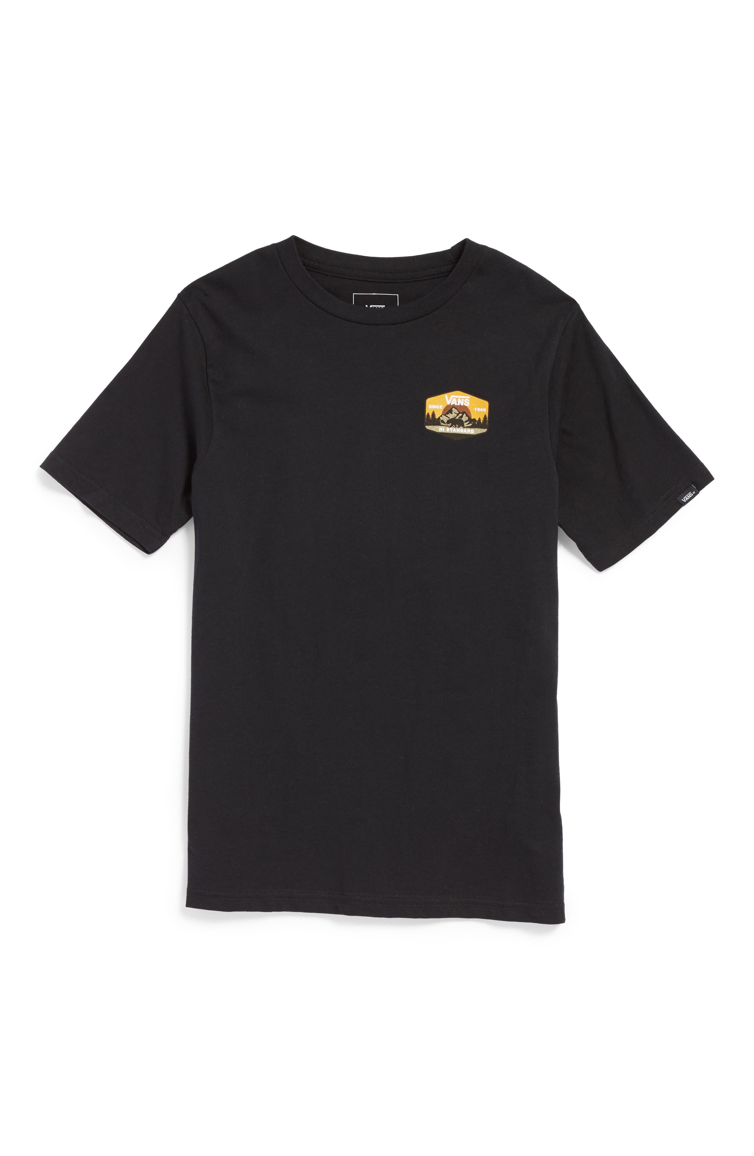 Mountain Hi-Standard T-Shirt,                         Main,                         color, Black