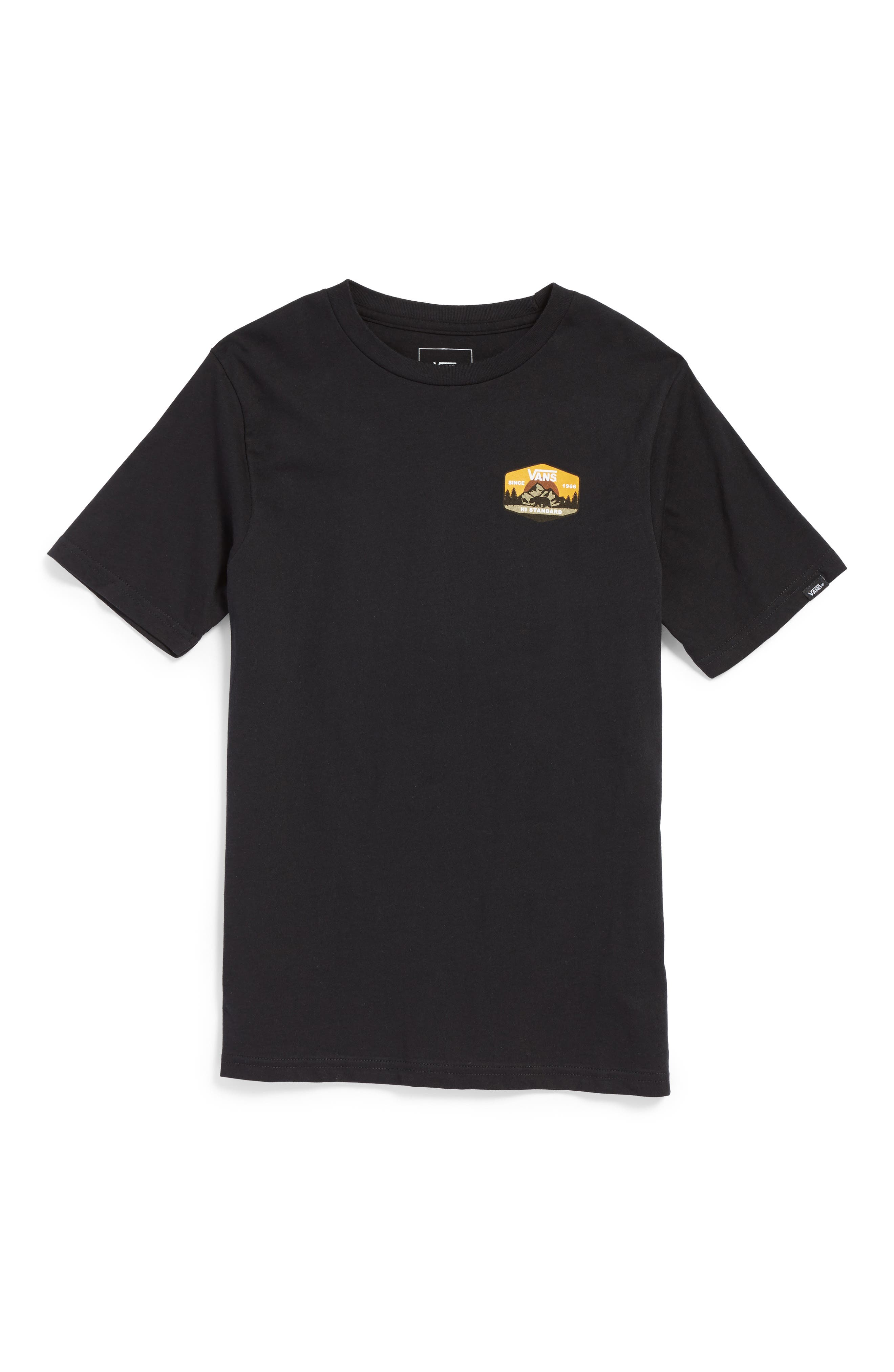 Vans Mountain Hi-Standard T-Shirt (Big Boys)