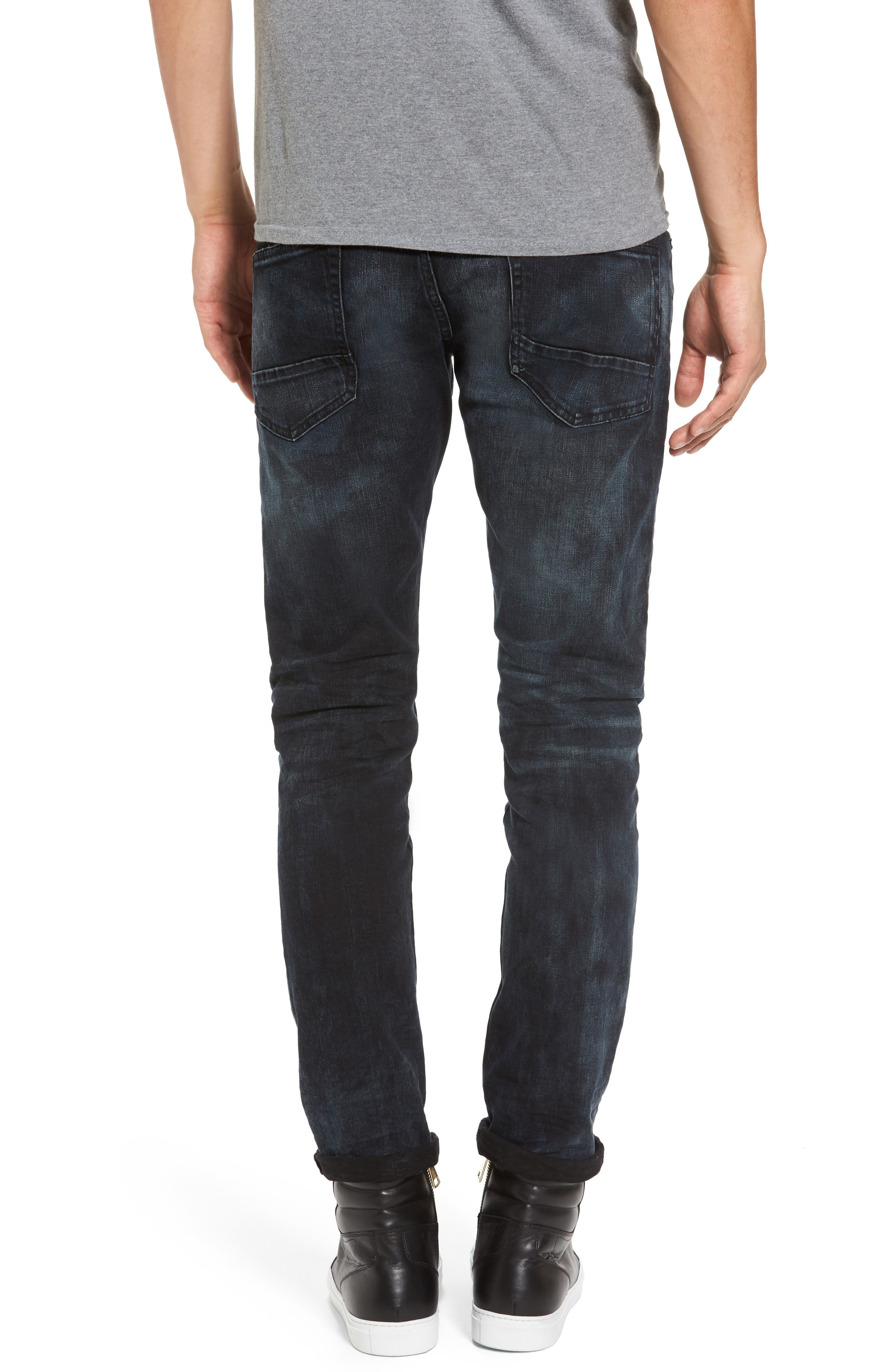 Tye Slim Fit Jeans,                             Alternate thumbnail 2, color,                             Sander