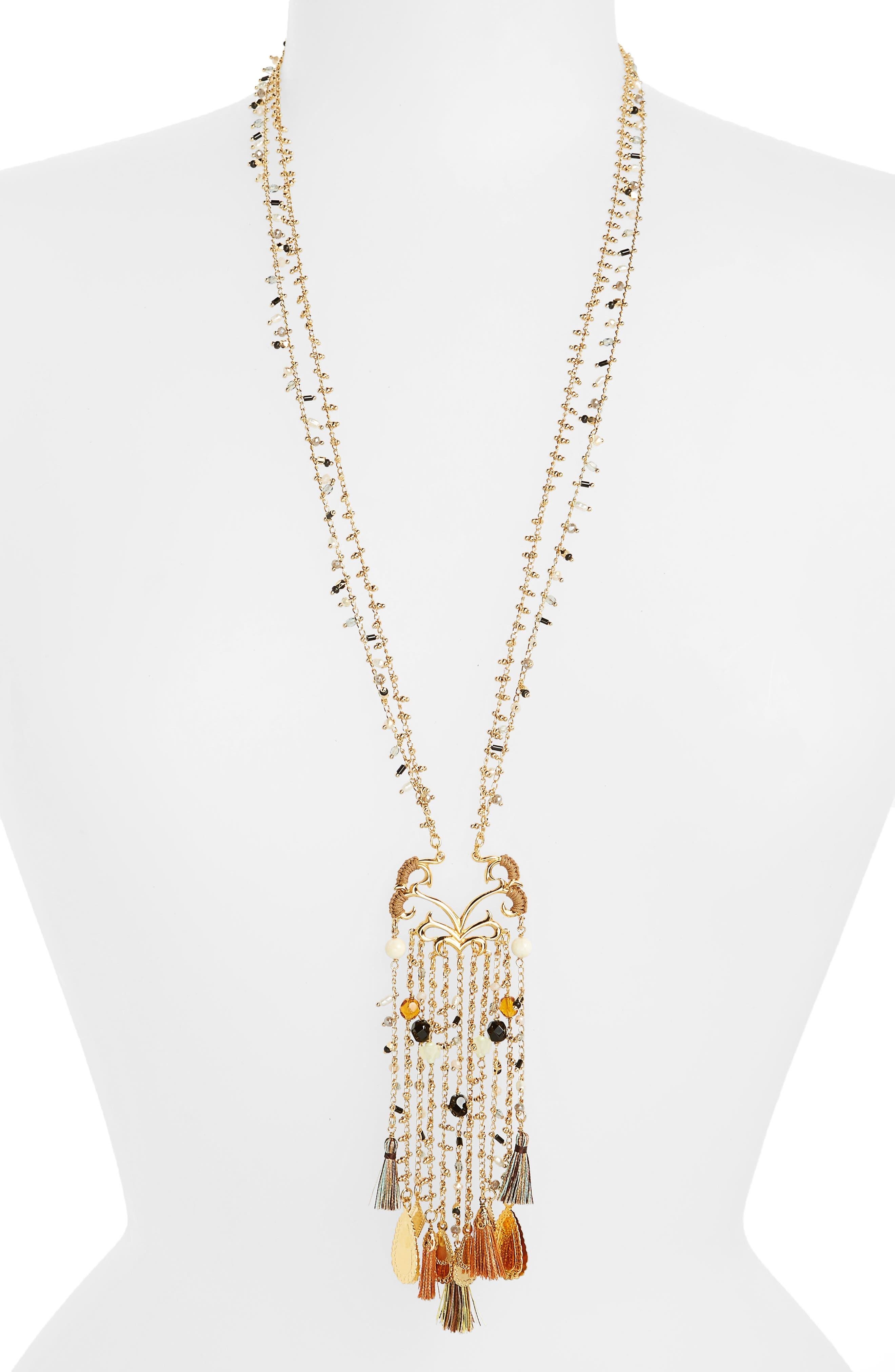 Gas Bijoux Volupte Crystal Necklace