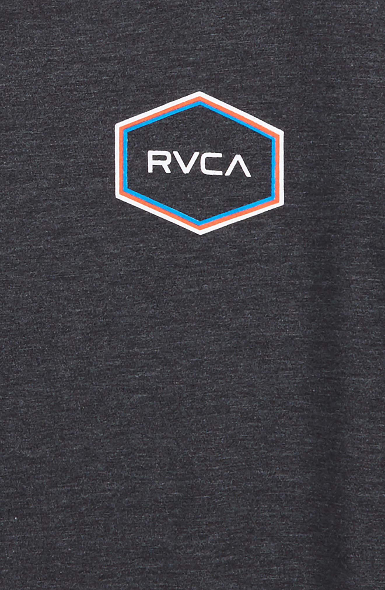 Alternate Image 2  - RVCA Triple Hex Logo Graphic T-Shirt (Big Boys)