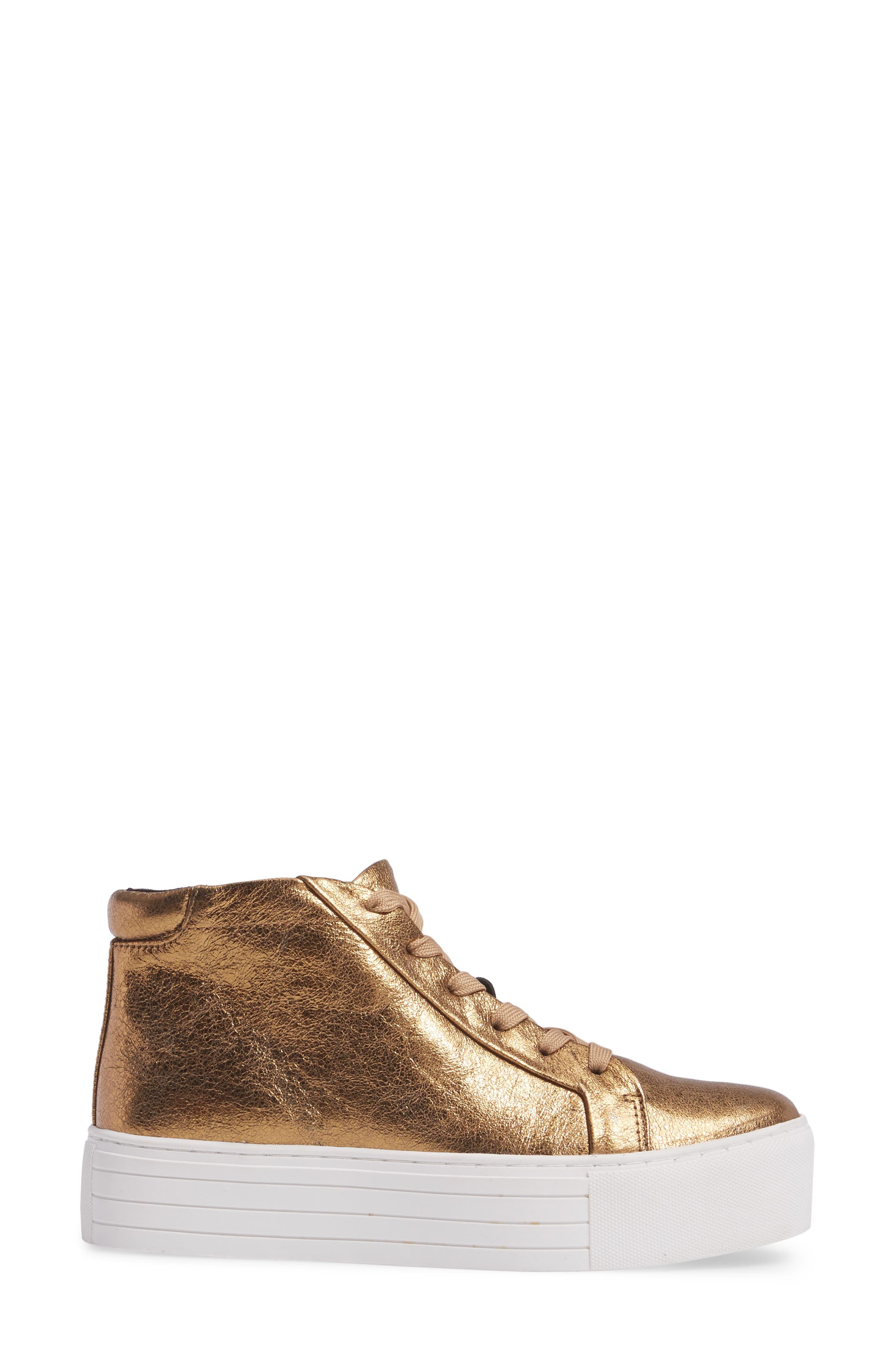 Alternate Image 3  - Kenneth Cole New York Janette High Top Platform Sneaker (Women)