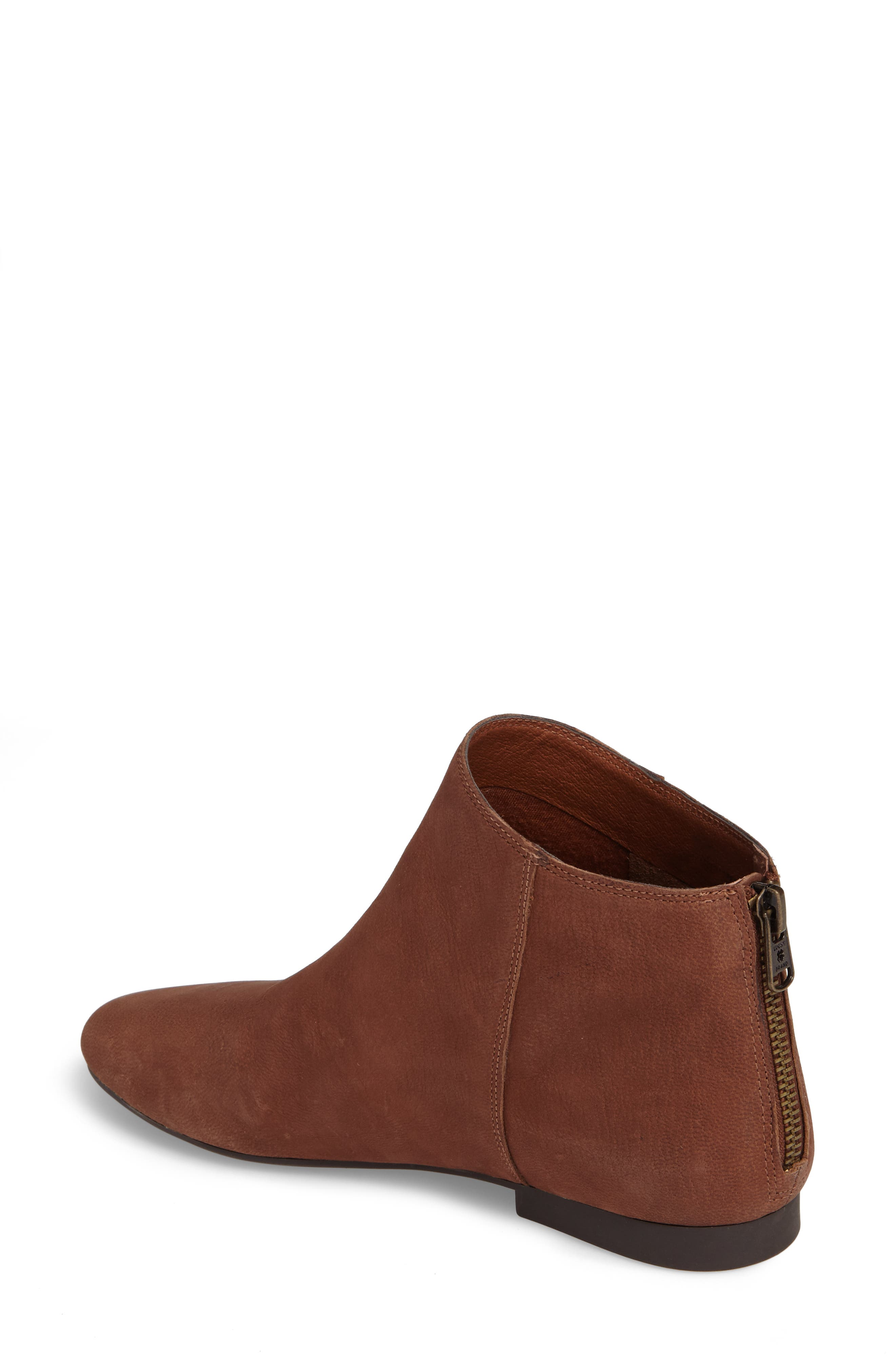 Gaines Bootie,                             Alternate thumbnail 2, color,                             Toffee Leather