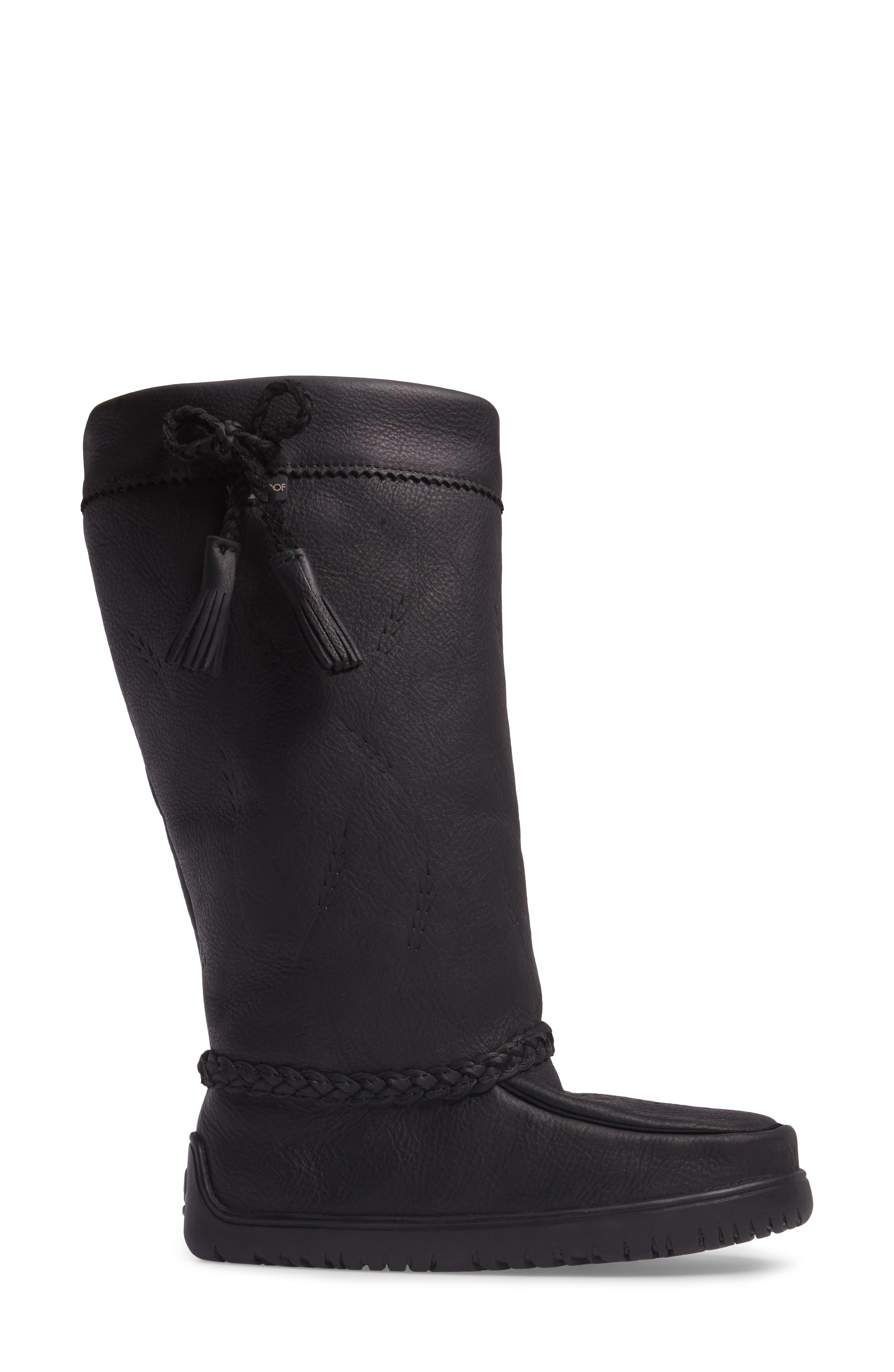 Alternate Image 3  - Manitobah Mukluks Tamarack Waterproof Genuine Shearling Boot (Women) (Wide Calf)