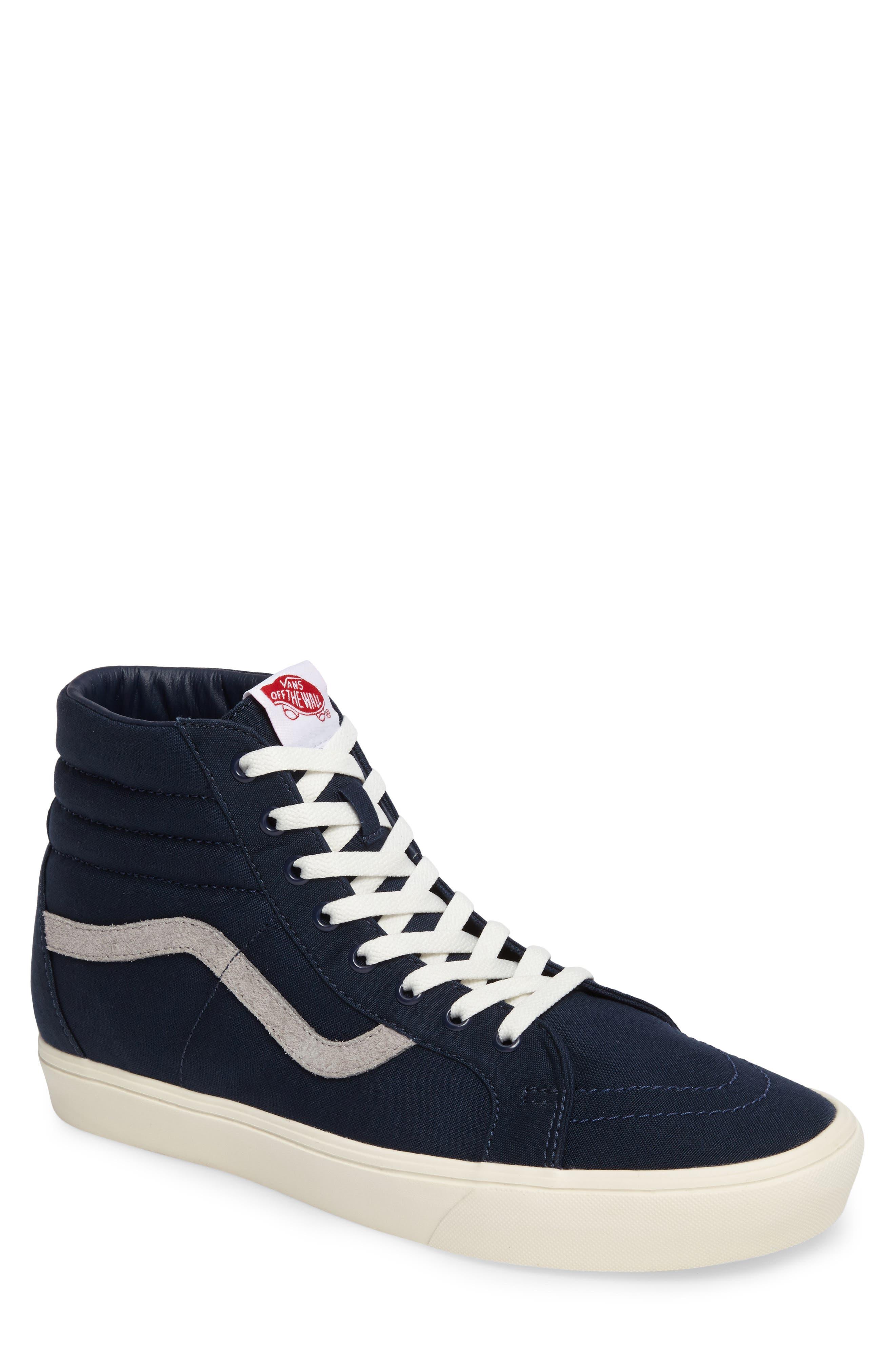 Sk80-Hi Reissue Lite Sneaker,                             Main thumbnail 1, color,                             Dress Blues/Marshmallow Canvas