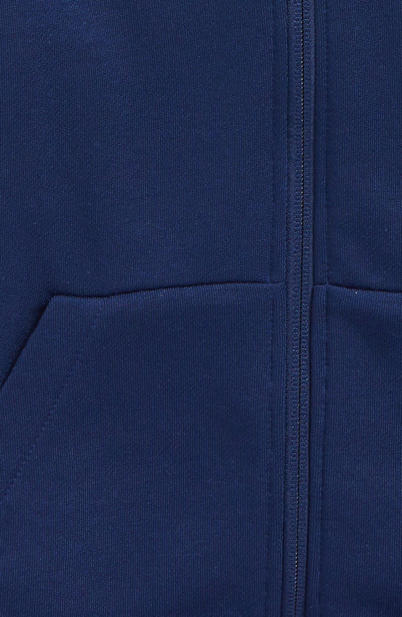 Alternate Image 4  - Nike Dry Logo Zip Hoodie (Little Boys & Big Boys)
