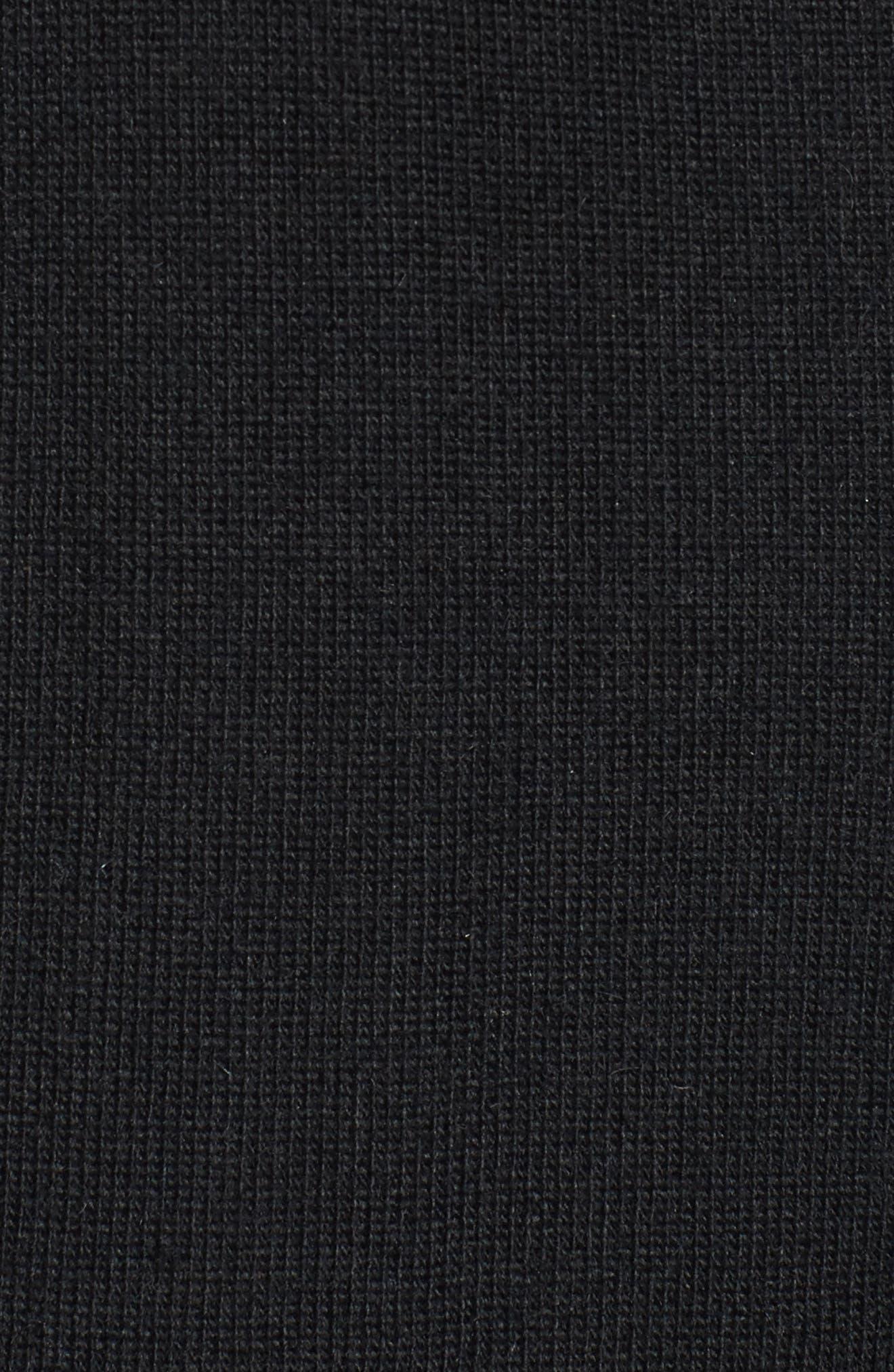 Alternate Image 4  - Soprano Ruffle Sleeve Longline Cardigan