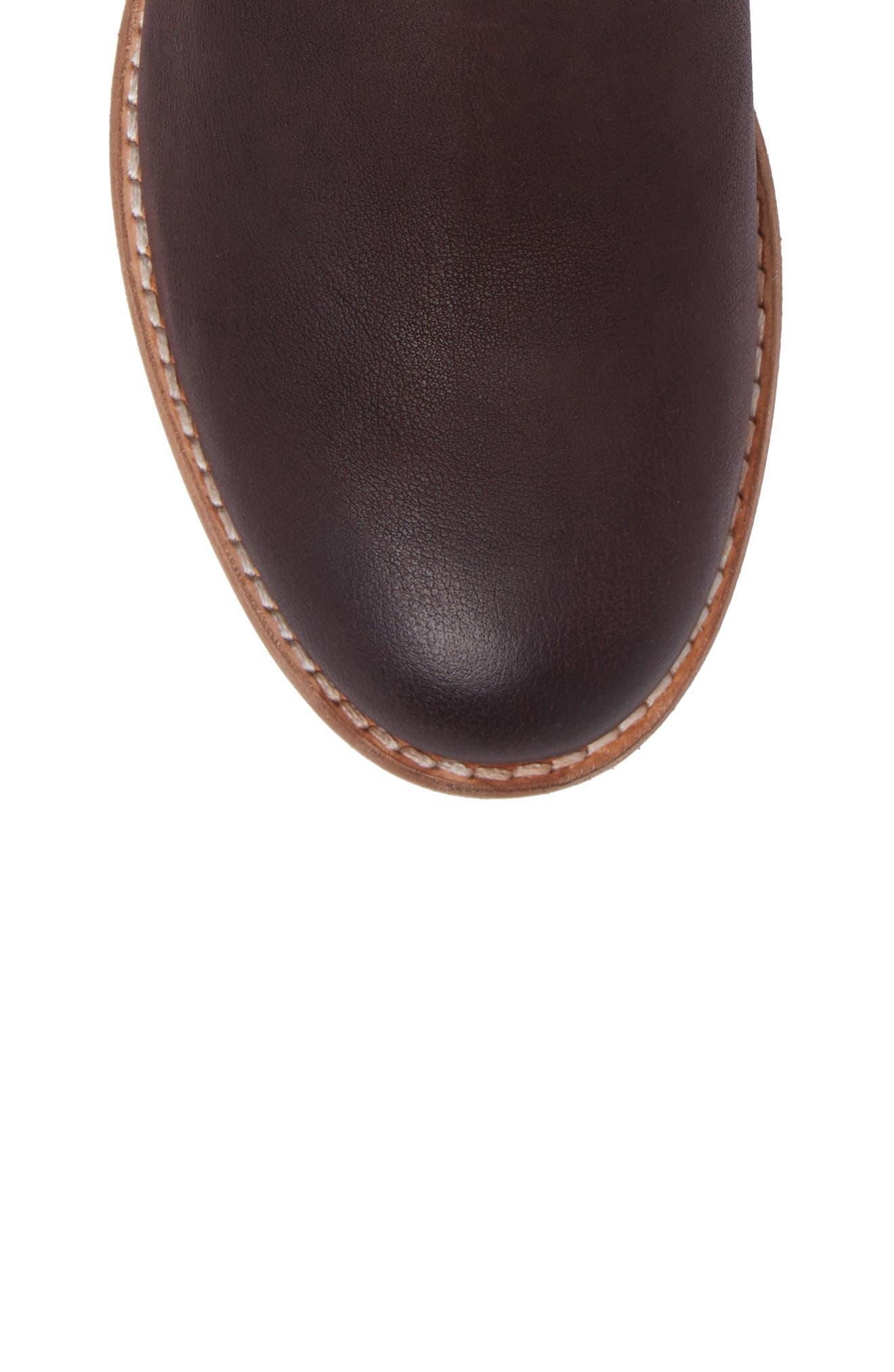 Maypearl Nala Bootie,                             Alternate thumbnail 5, color,                             Burgundy Leather