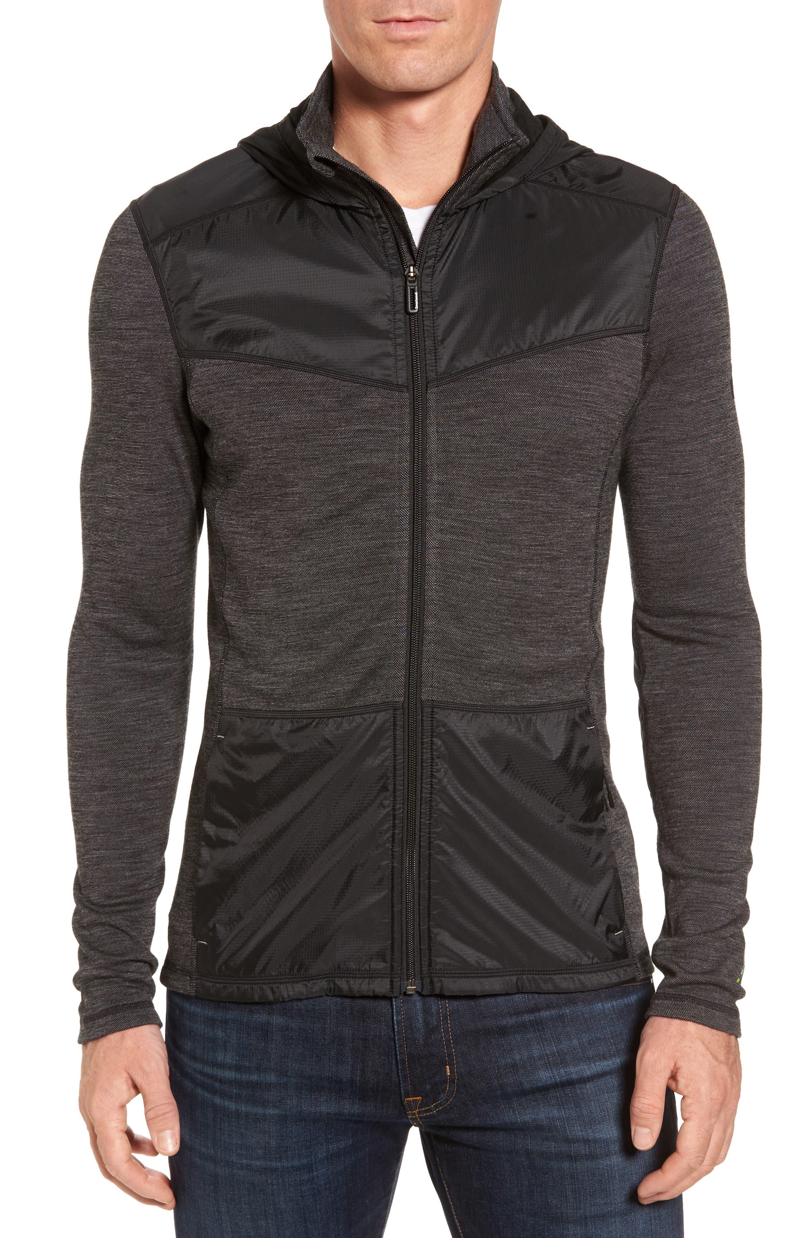250 Sport Merino Wool Jacket,                             Main thumbnail 1, color,                             Black