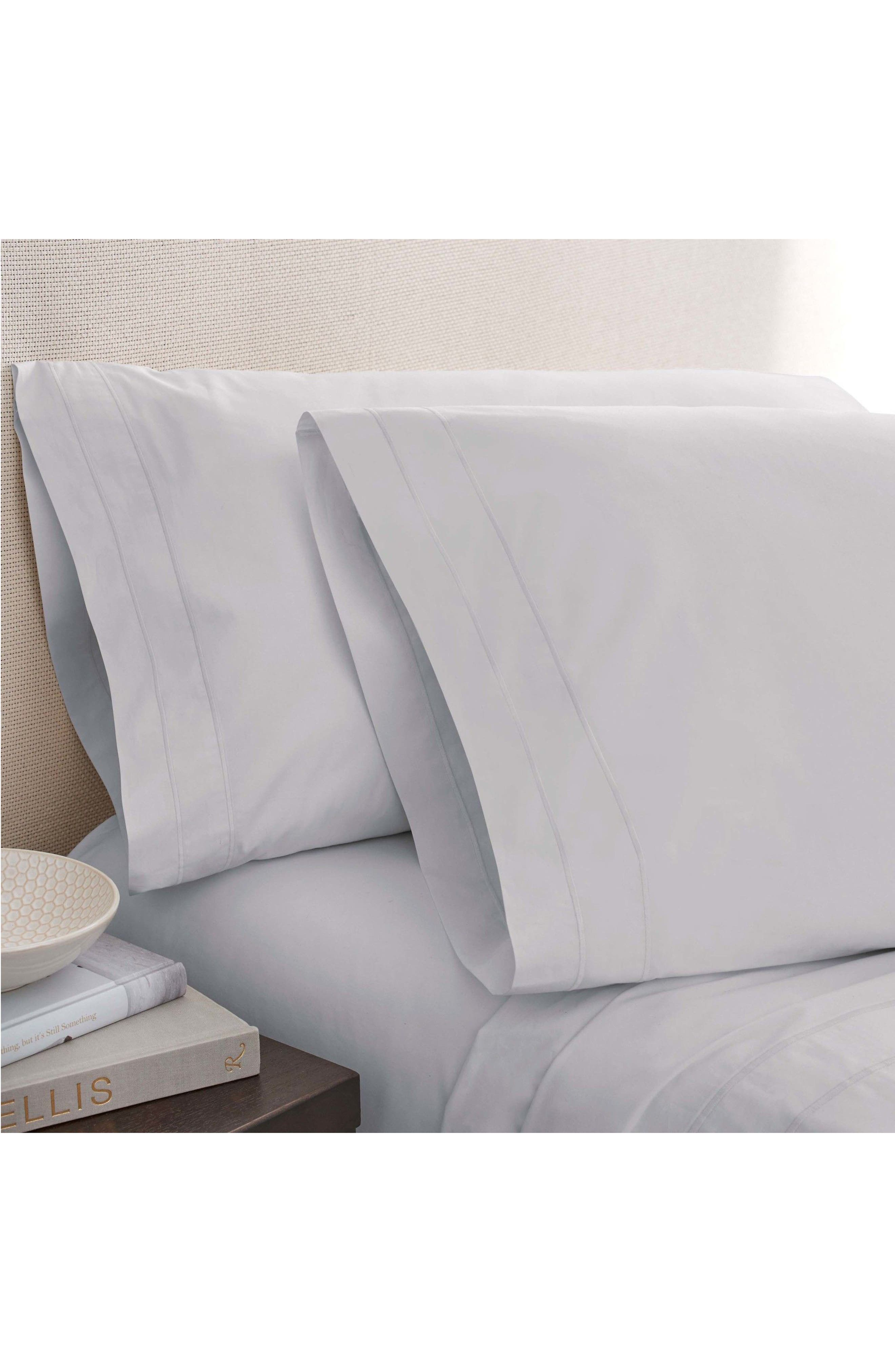 Alternate Image 1 Selected - Portico The Denizen Organic Cotton Fitted Sheet