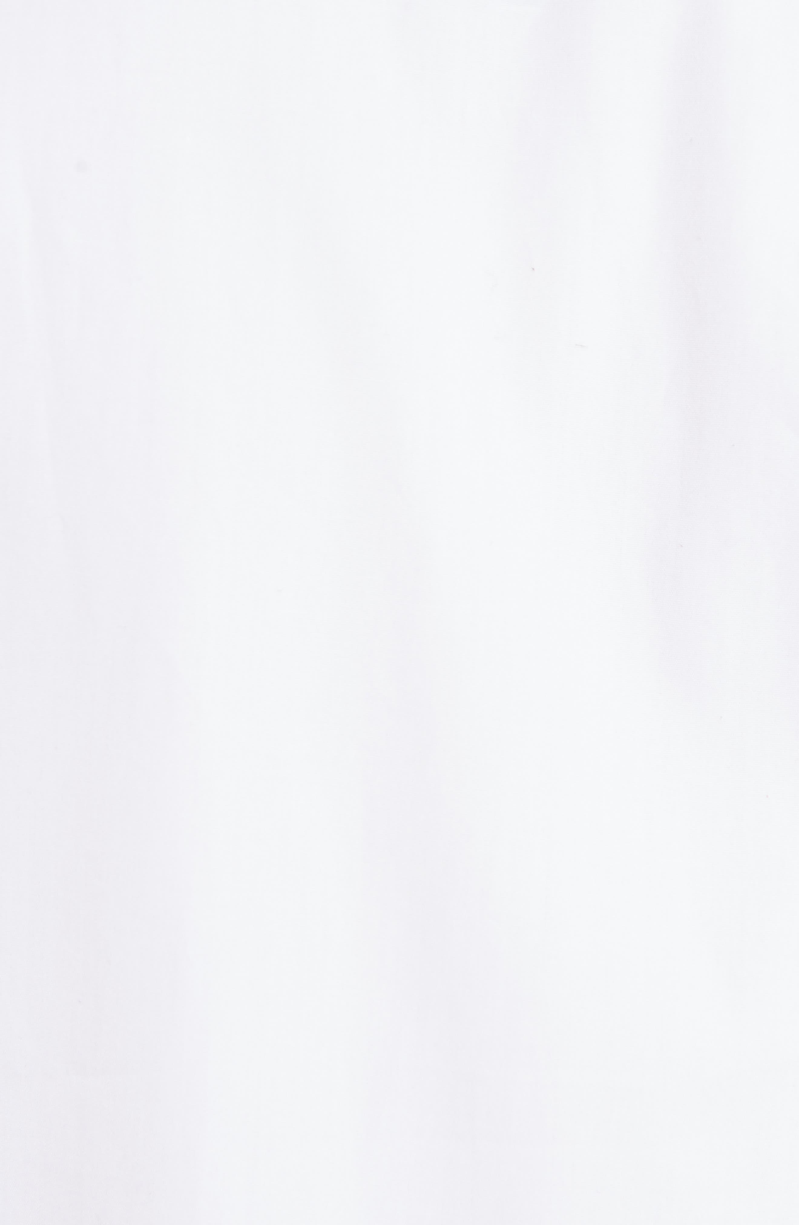 Cotton Poplin Patchwork Shirt,                             Alternate thumbnail 5, color,                             White