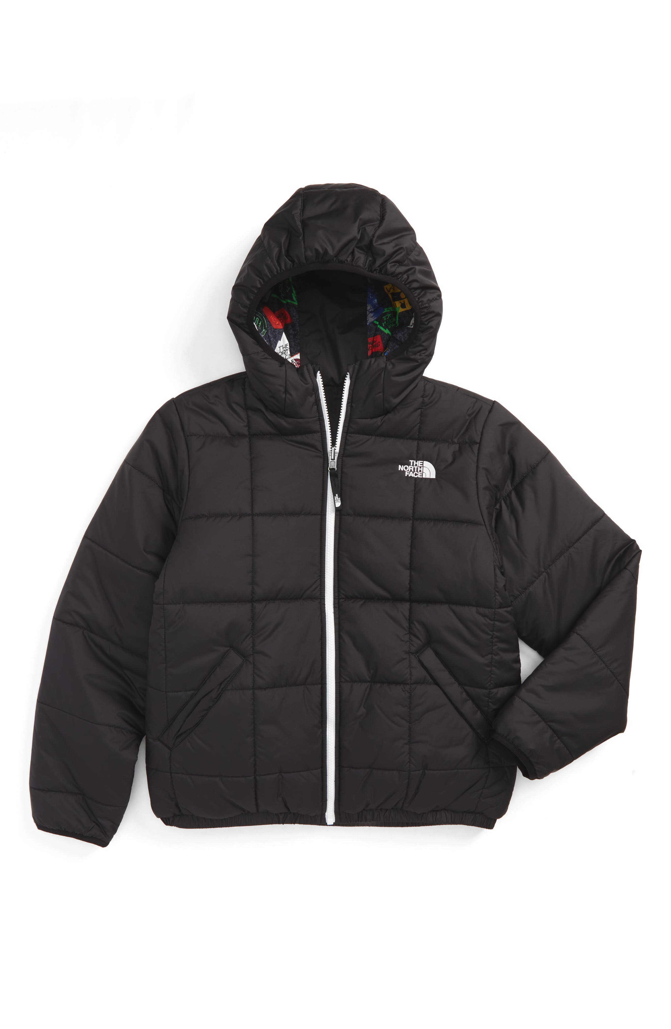 The North Face Perrito Reversible Water Repellent Heatseeker™ Insulated Jacket (Big Boys)