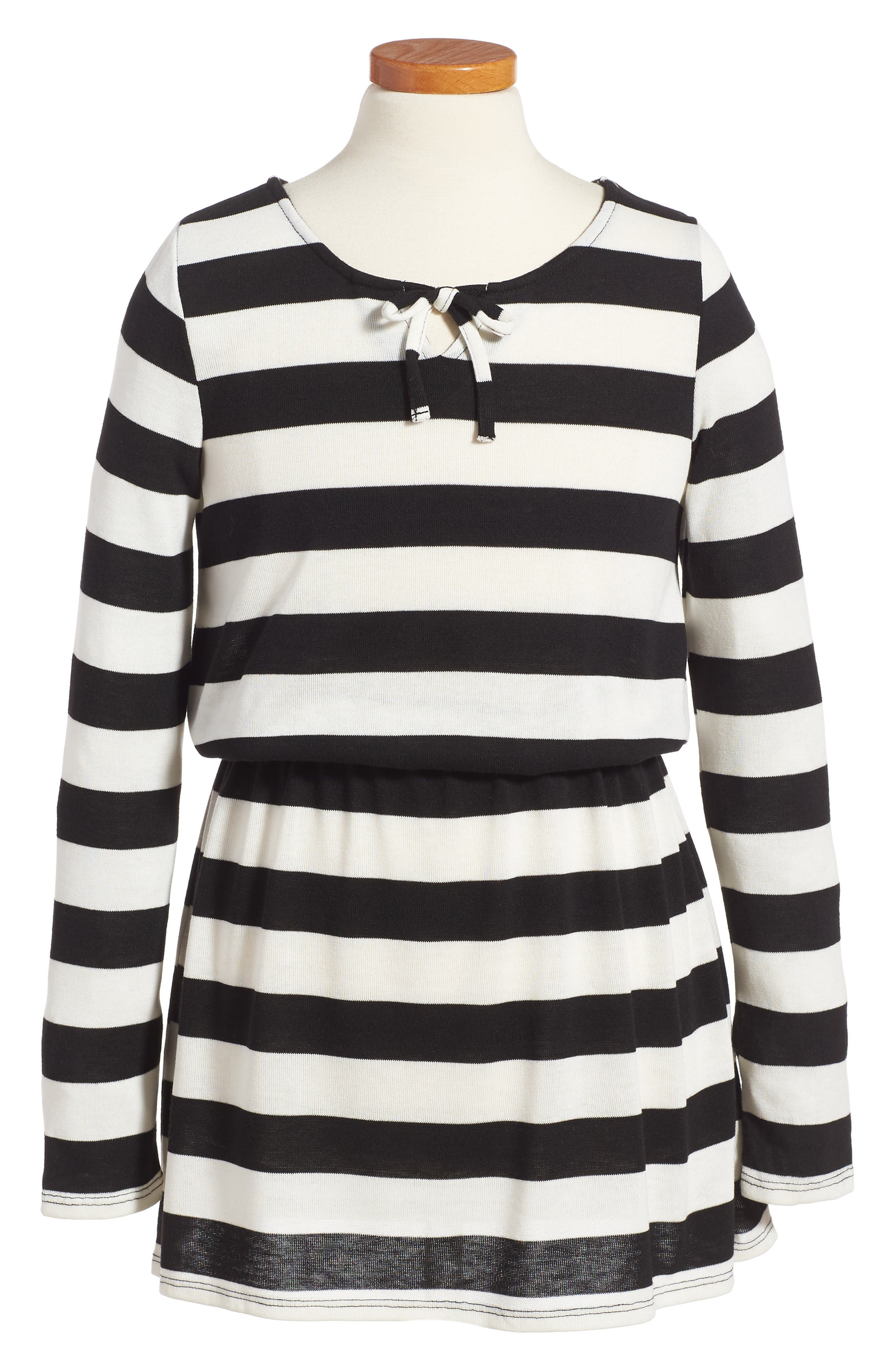 Splendid Stripe Knit Dress (Toddler Girls & Little Girls)