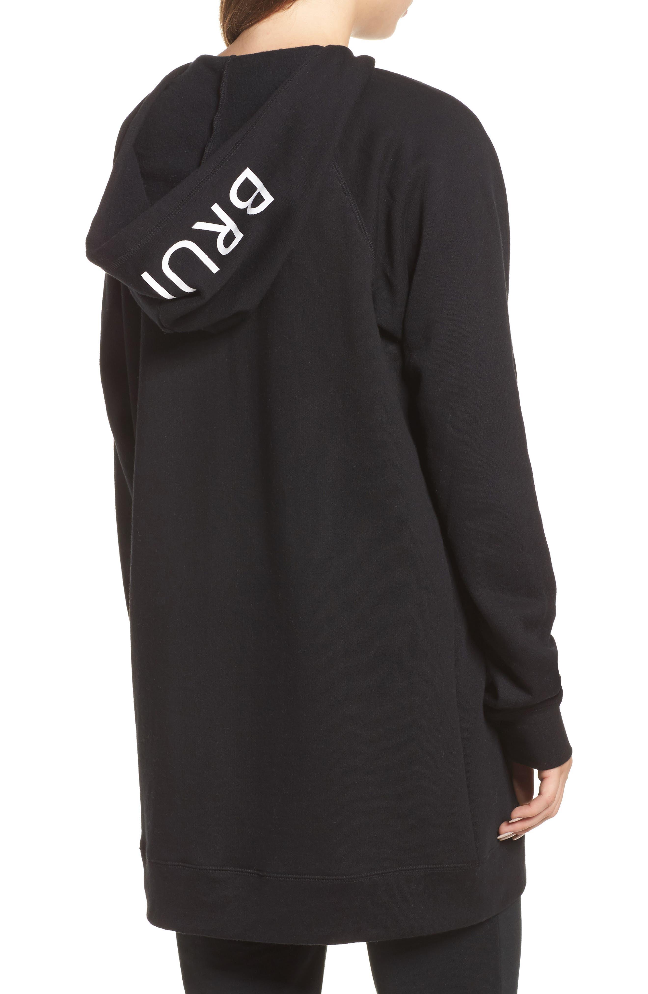Alternate Image 2  - BRUNETTE the Label Brunette Embroidered Zip Hoodie