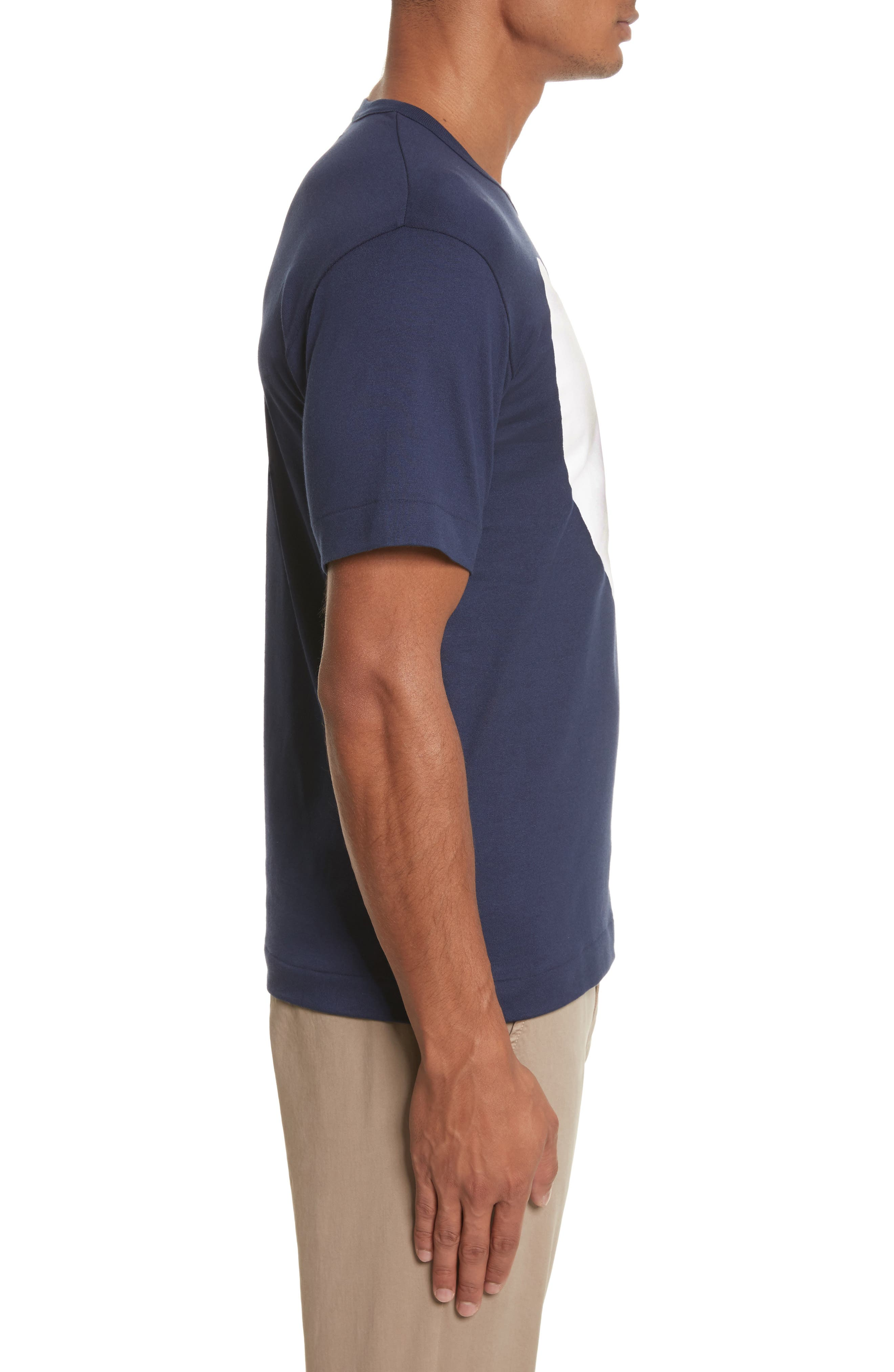Alternate Image 3  - Comme des Garçons PLAY Graphic Patch T-Shirt