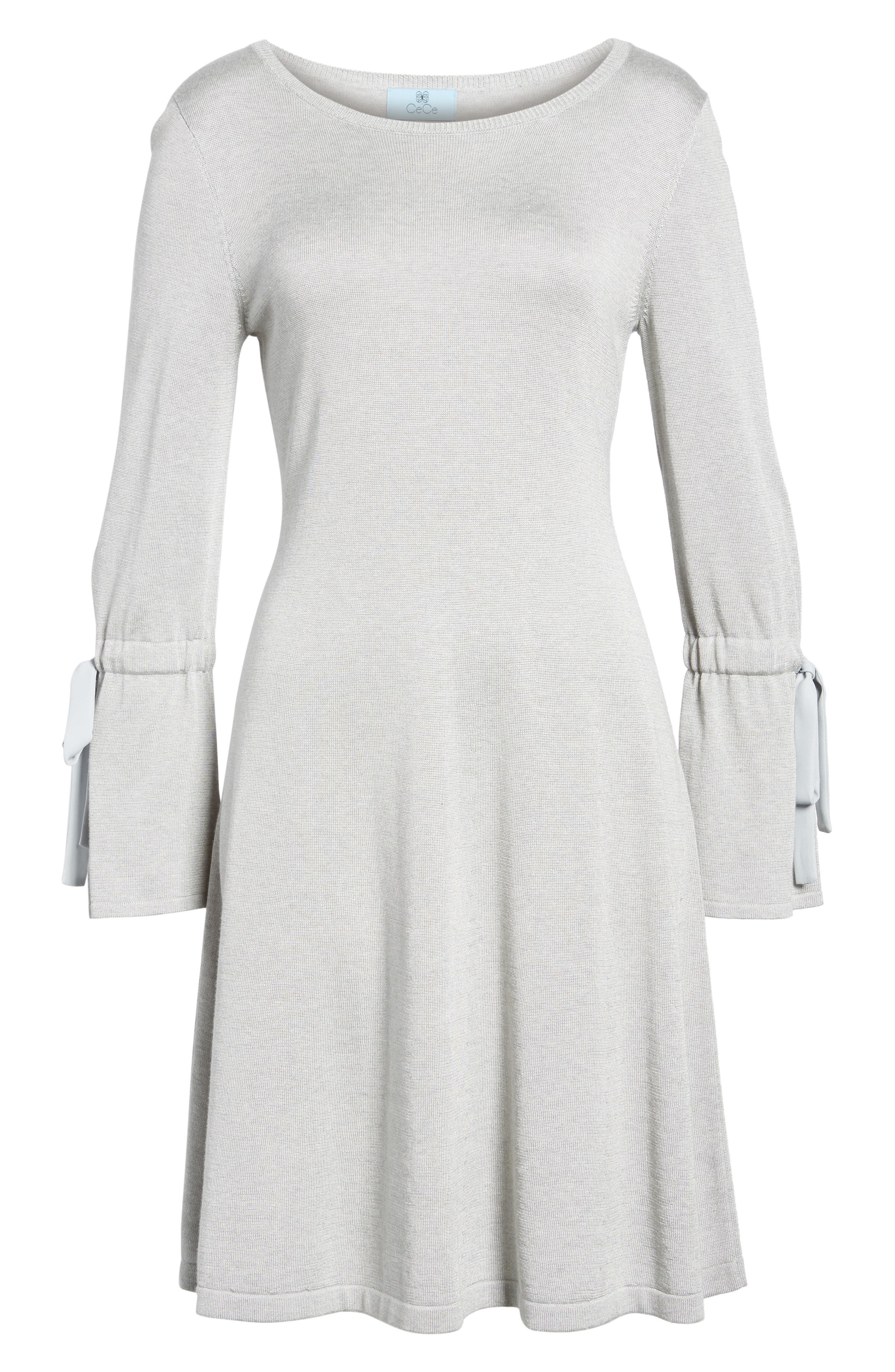 Alternate Image 7  - CeCe Bell Sleeve Sweater Dress