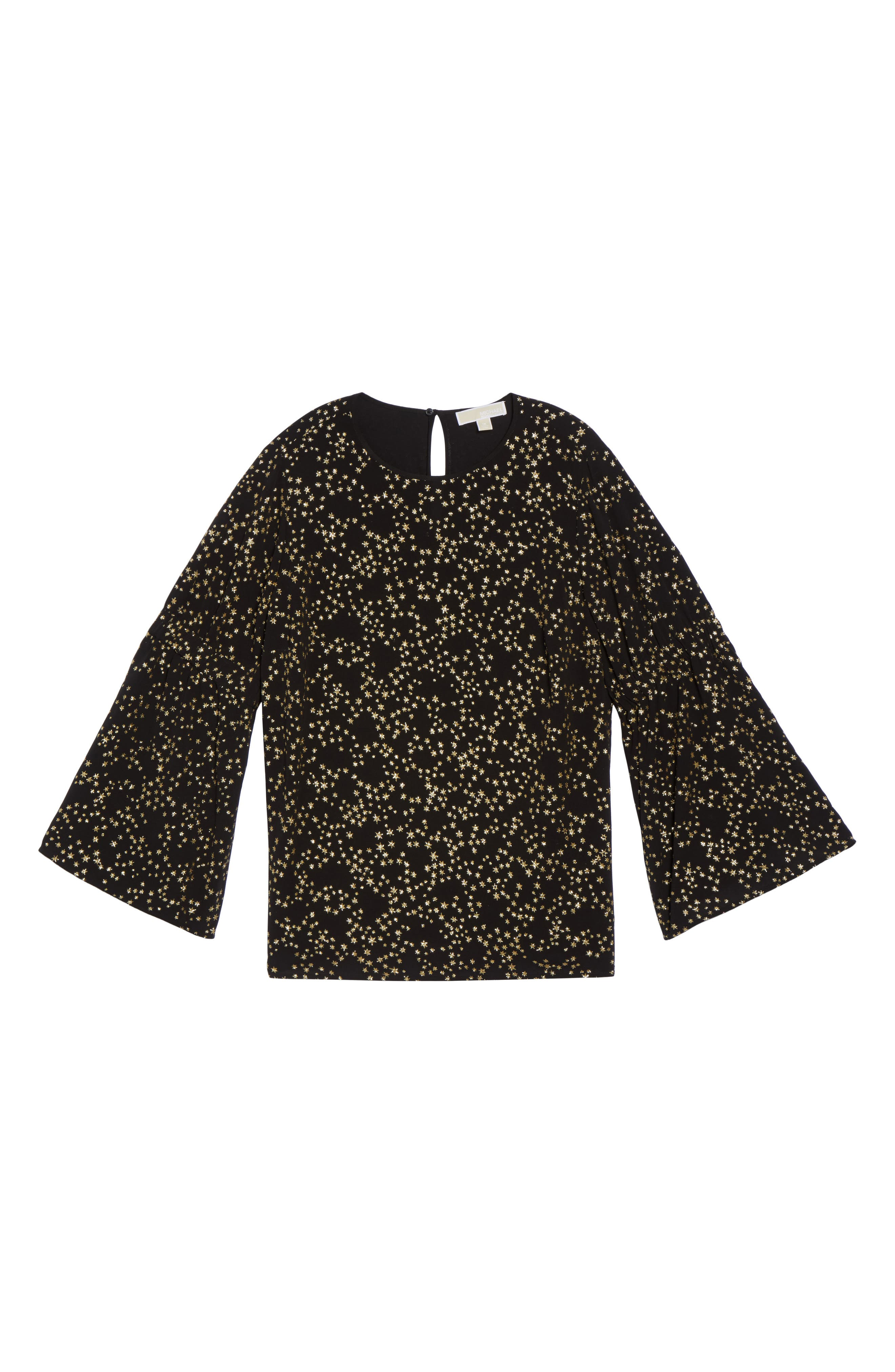 Alternate Image 6  - MICHAEL Michael Kors Shooting Star Bell Sleeve Top (Plus Size)