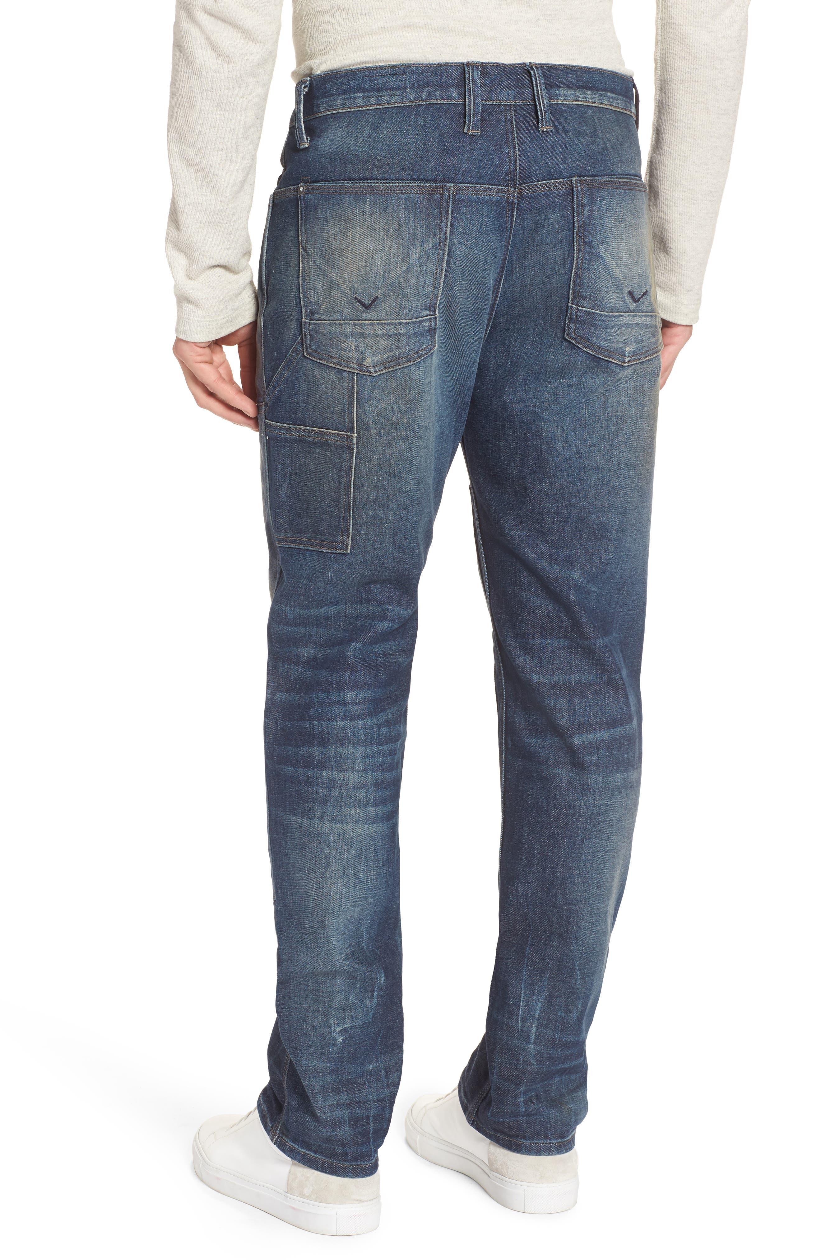 Alternate Image 2  - Hudson Jeans Hunter Straight Fit Jeans (Virus)