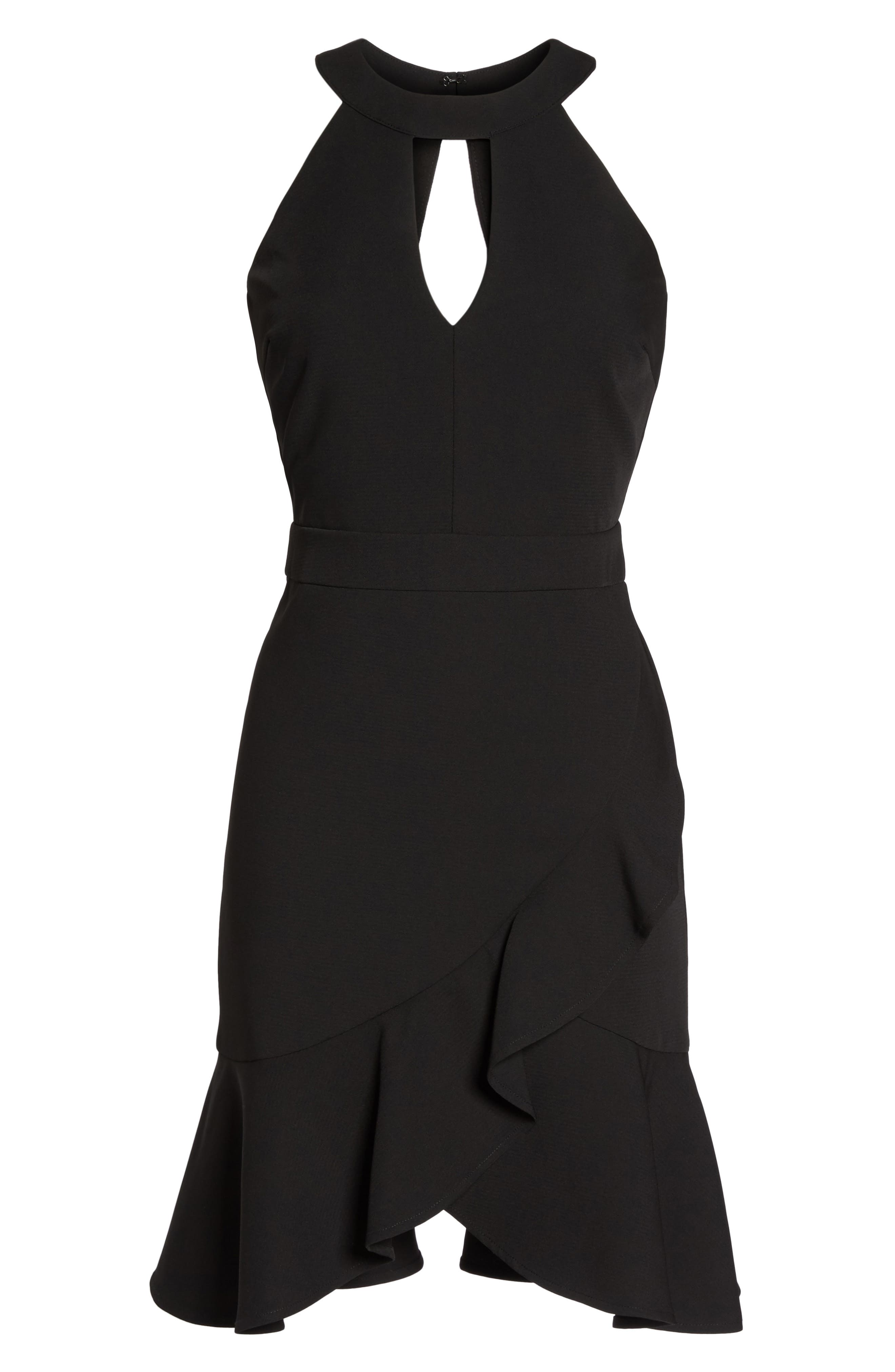 Alternate Image 6  - Adelyn Rae Kasi Ruffle Fit & Flare Dress