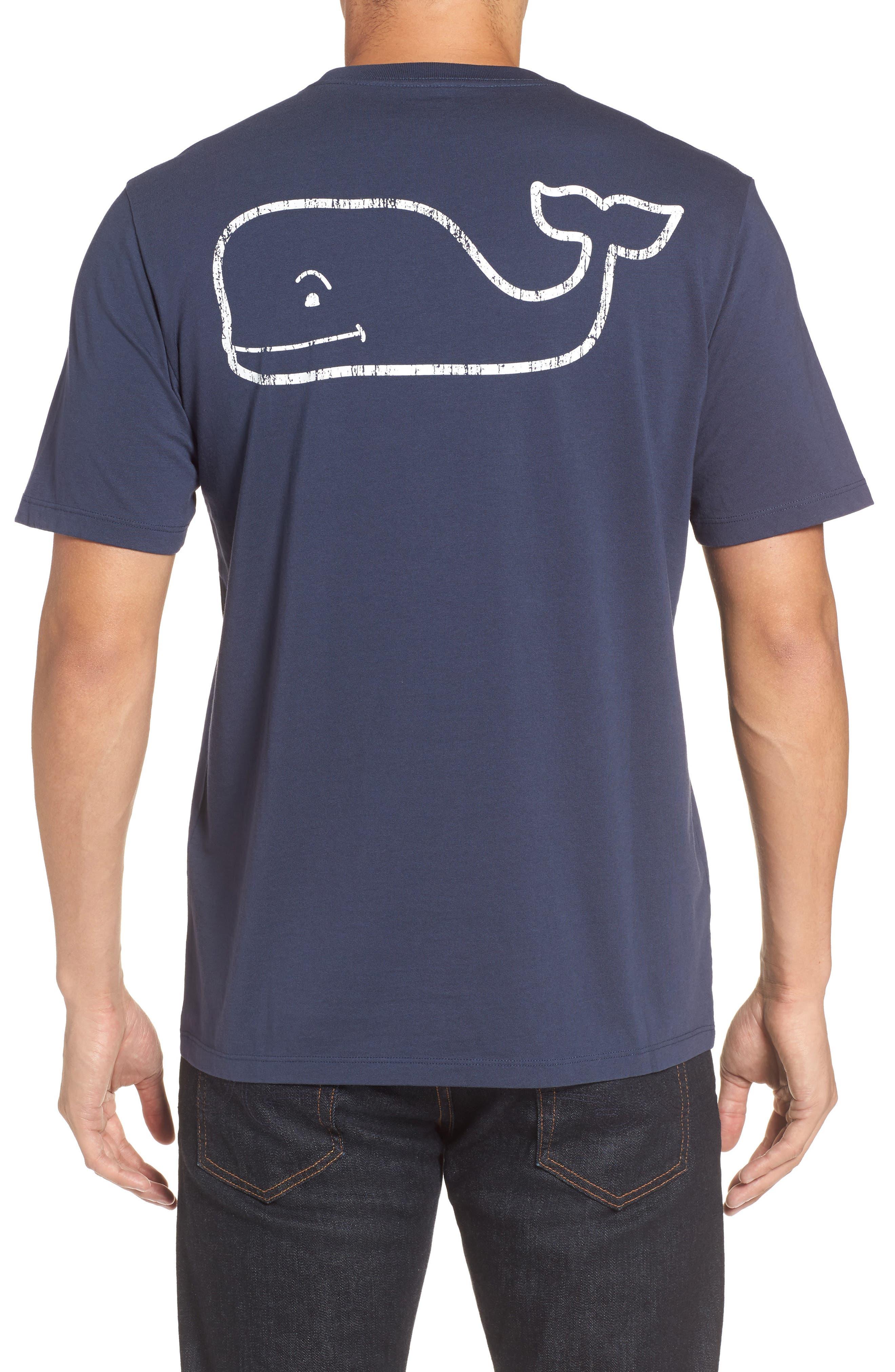 Alternate Image 1 Selected - vineyard vines Vintage Whale Pocket T-Shirt