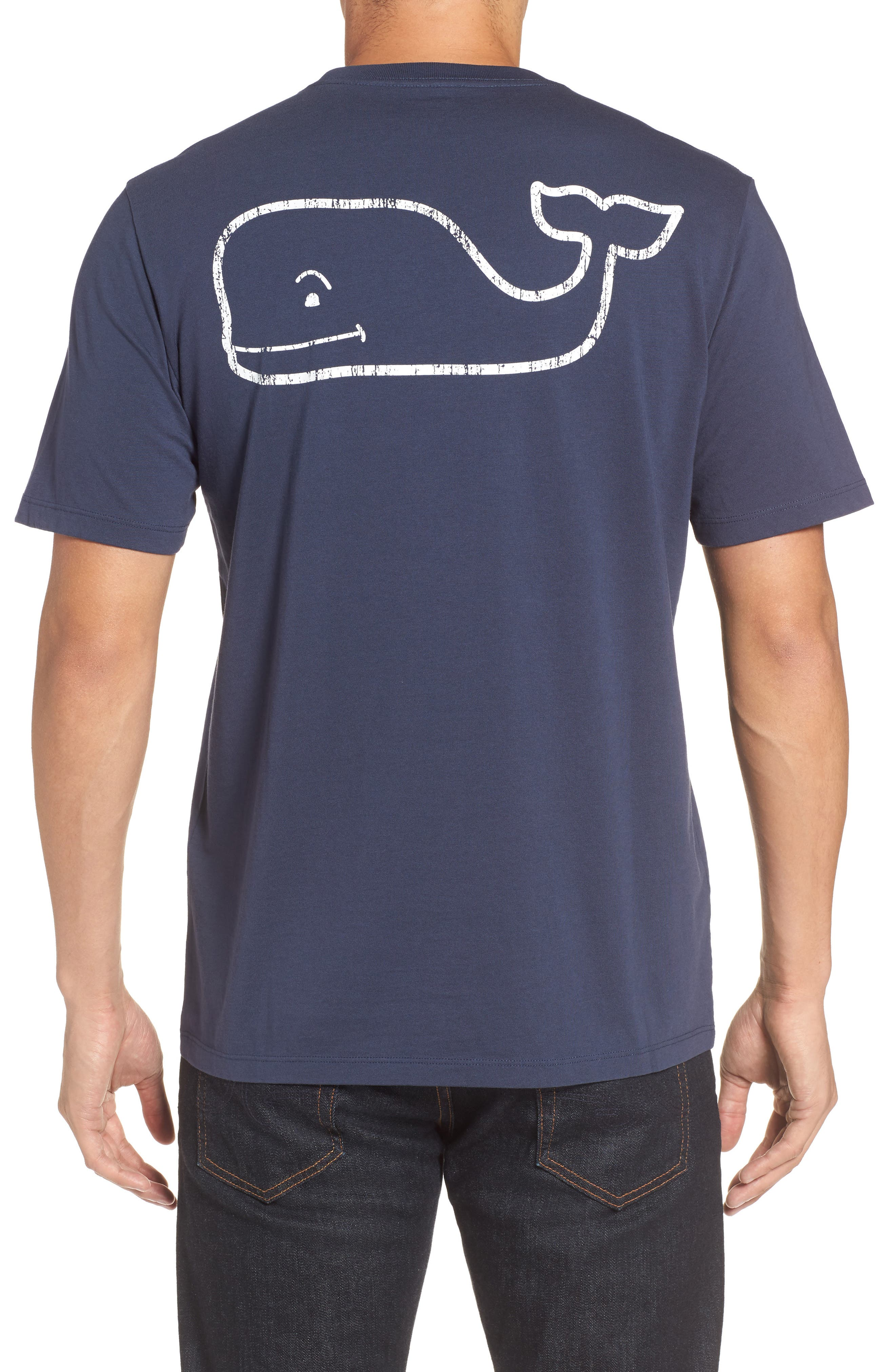 Main Image - vineyard vines Vintage Whale Pocket T-Shirt