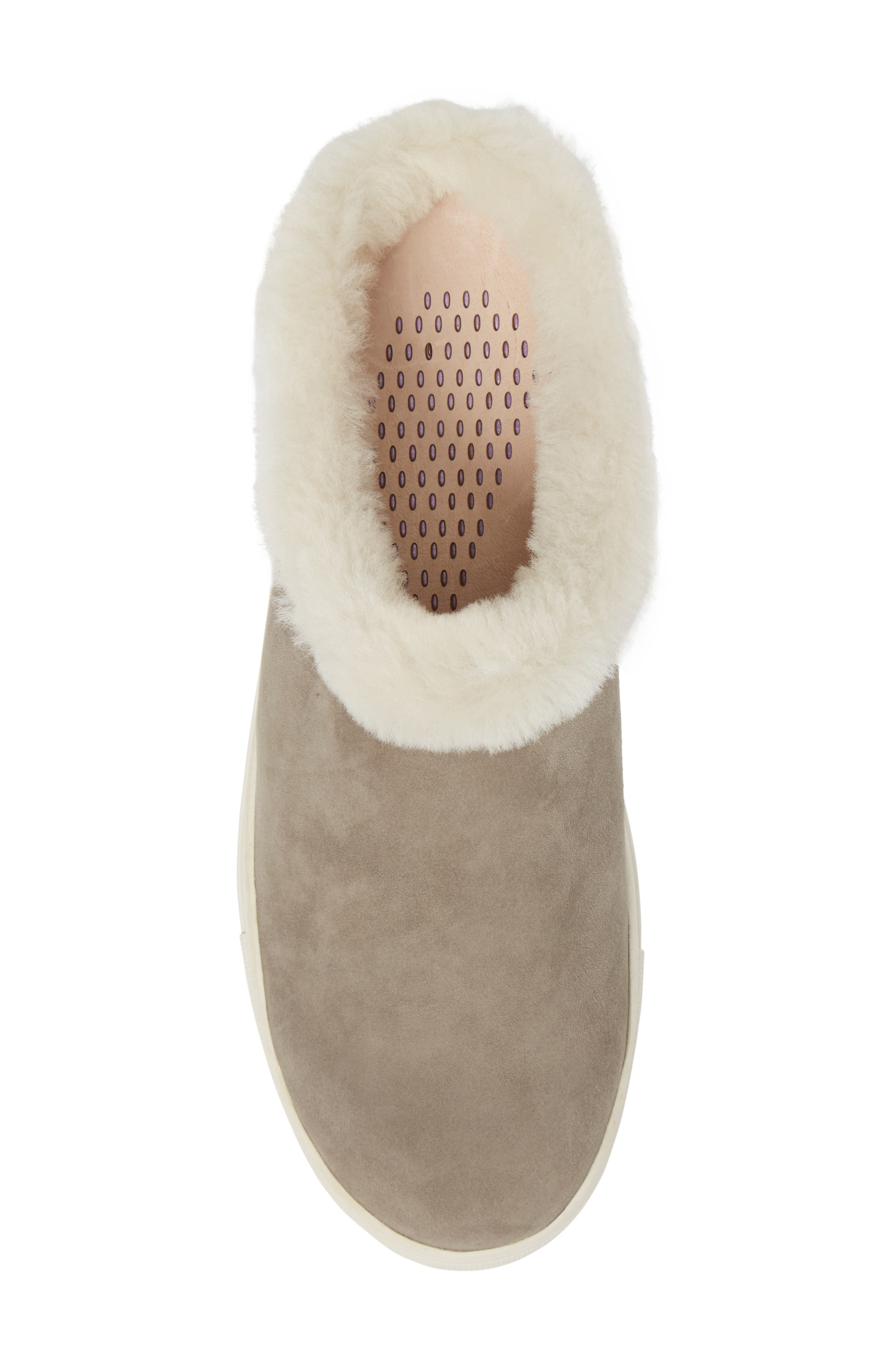 Alternate Image 5  - Sudini Leia Genuine Shearling Lined Slip-On (Women)
