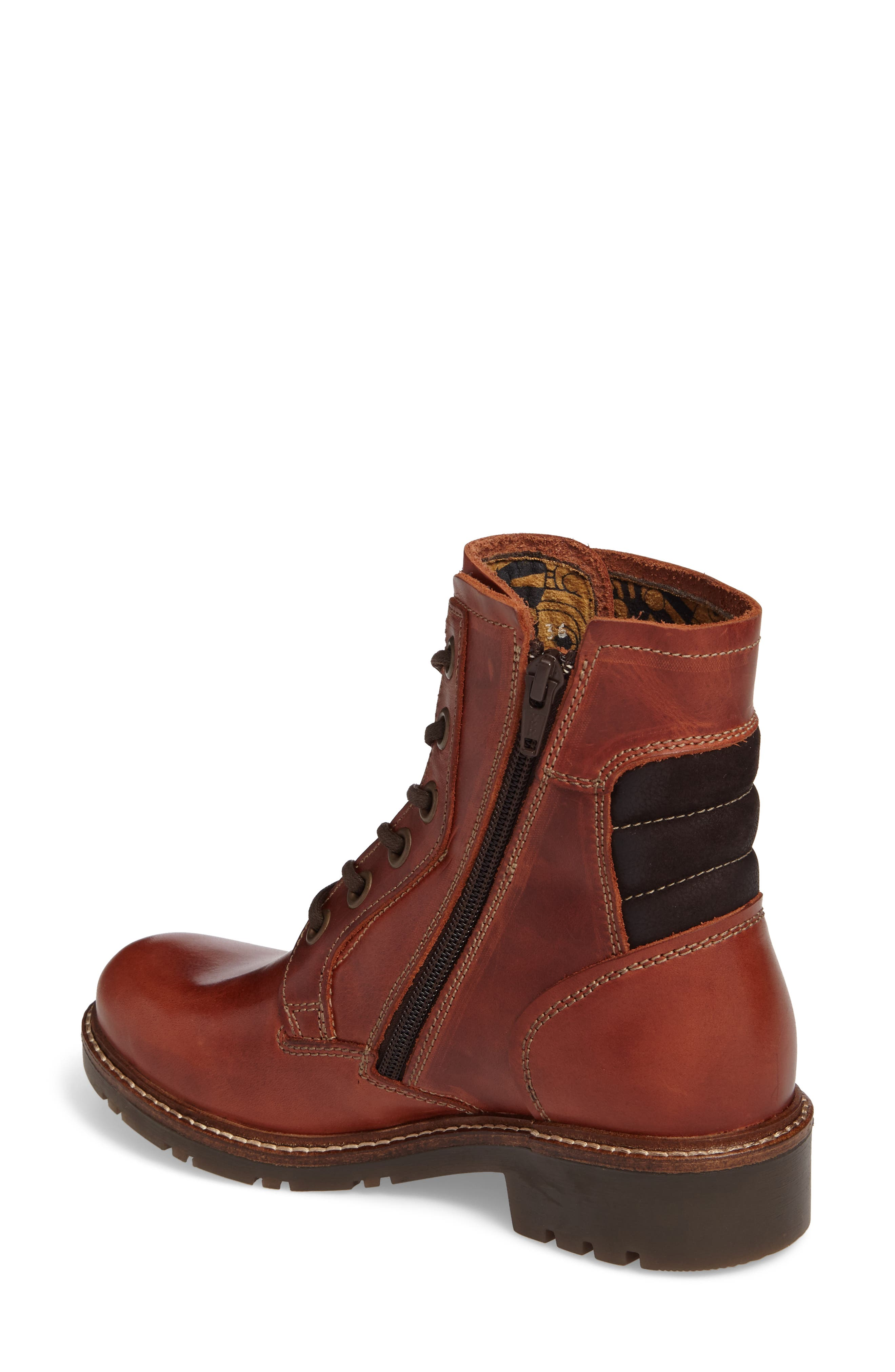 Silo Waterproof Gore-Tex<sup>®</sup> Boot,                             Alternate thumbnail 2, color,                             Brick Leather