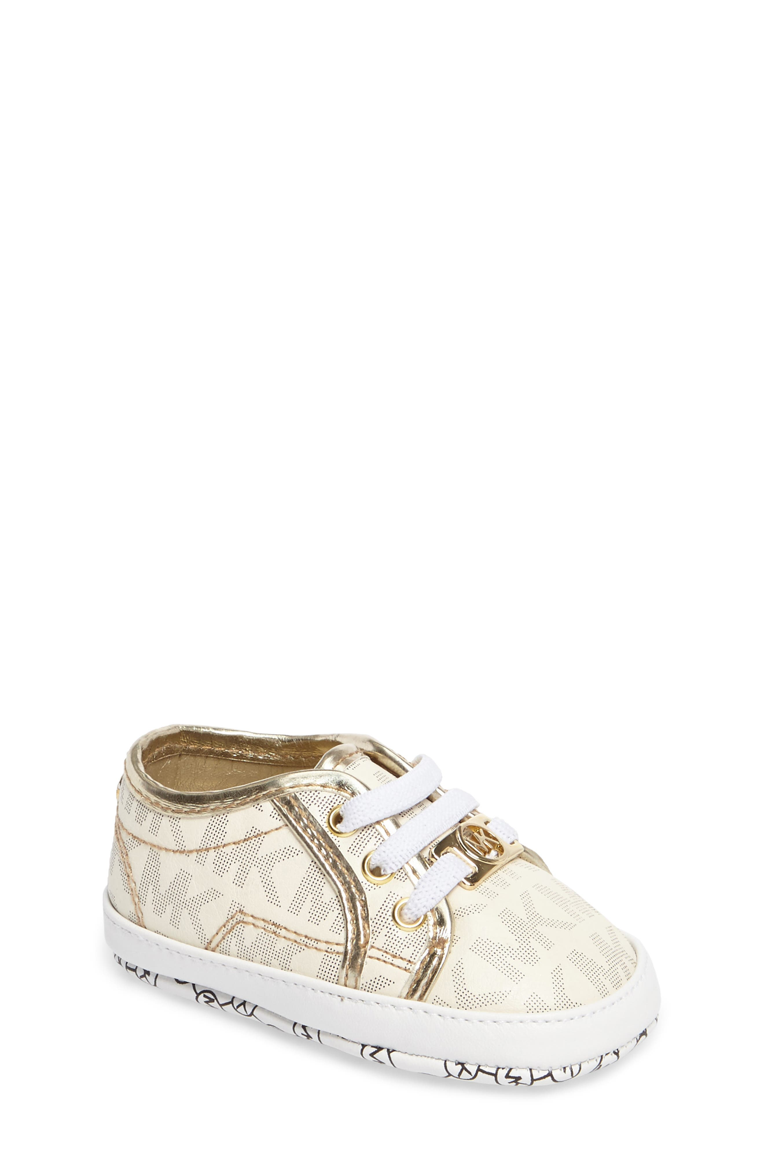MICHAEL Michael Kors 'Boerum' Crib Shoe (Baby)