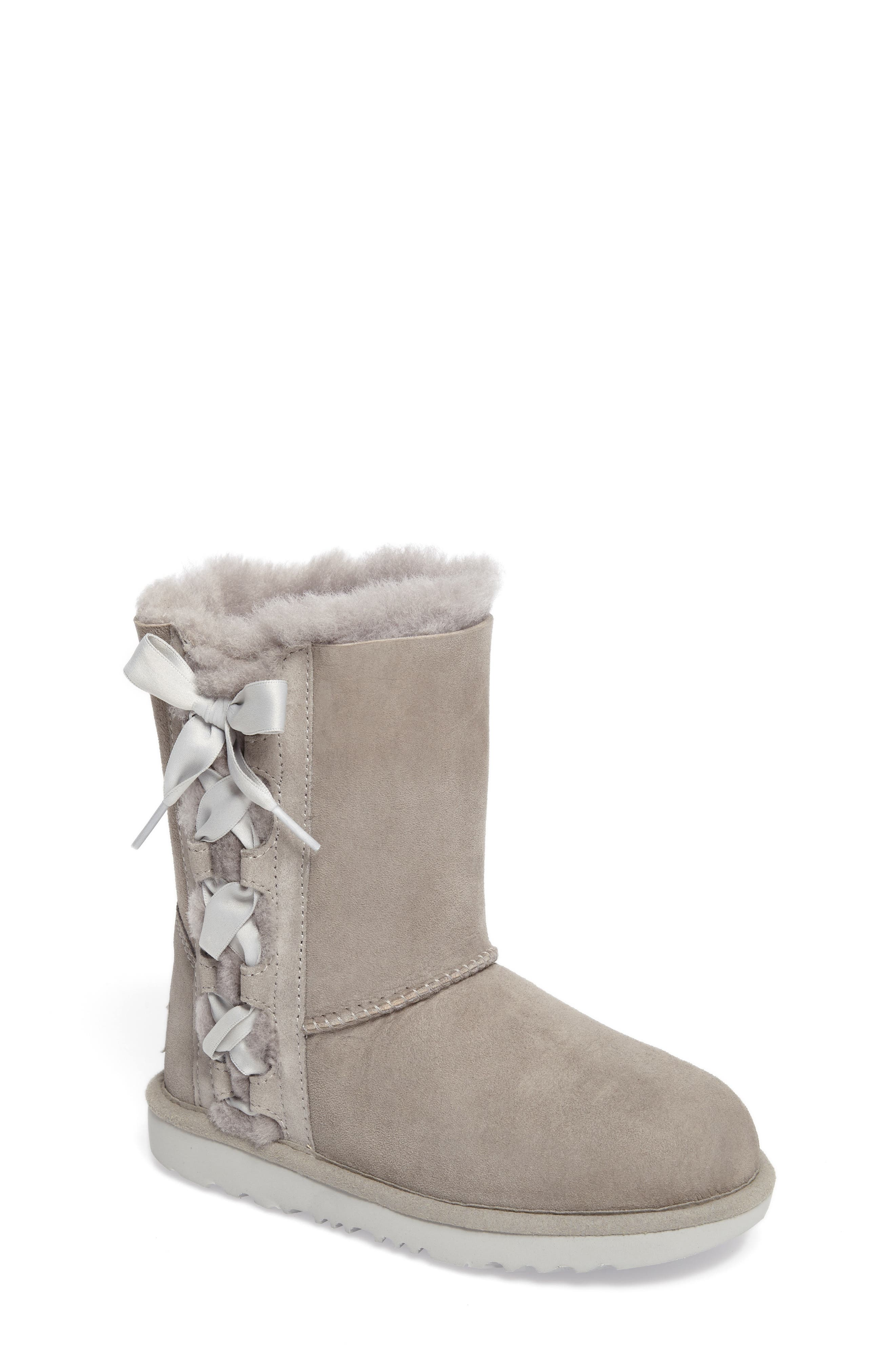 Alternate Image 1 Selected - UGG® Pala Water-Resistant Genuine Shearling Boot (Walker, Toddler, Little Kid & Big Kid)