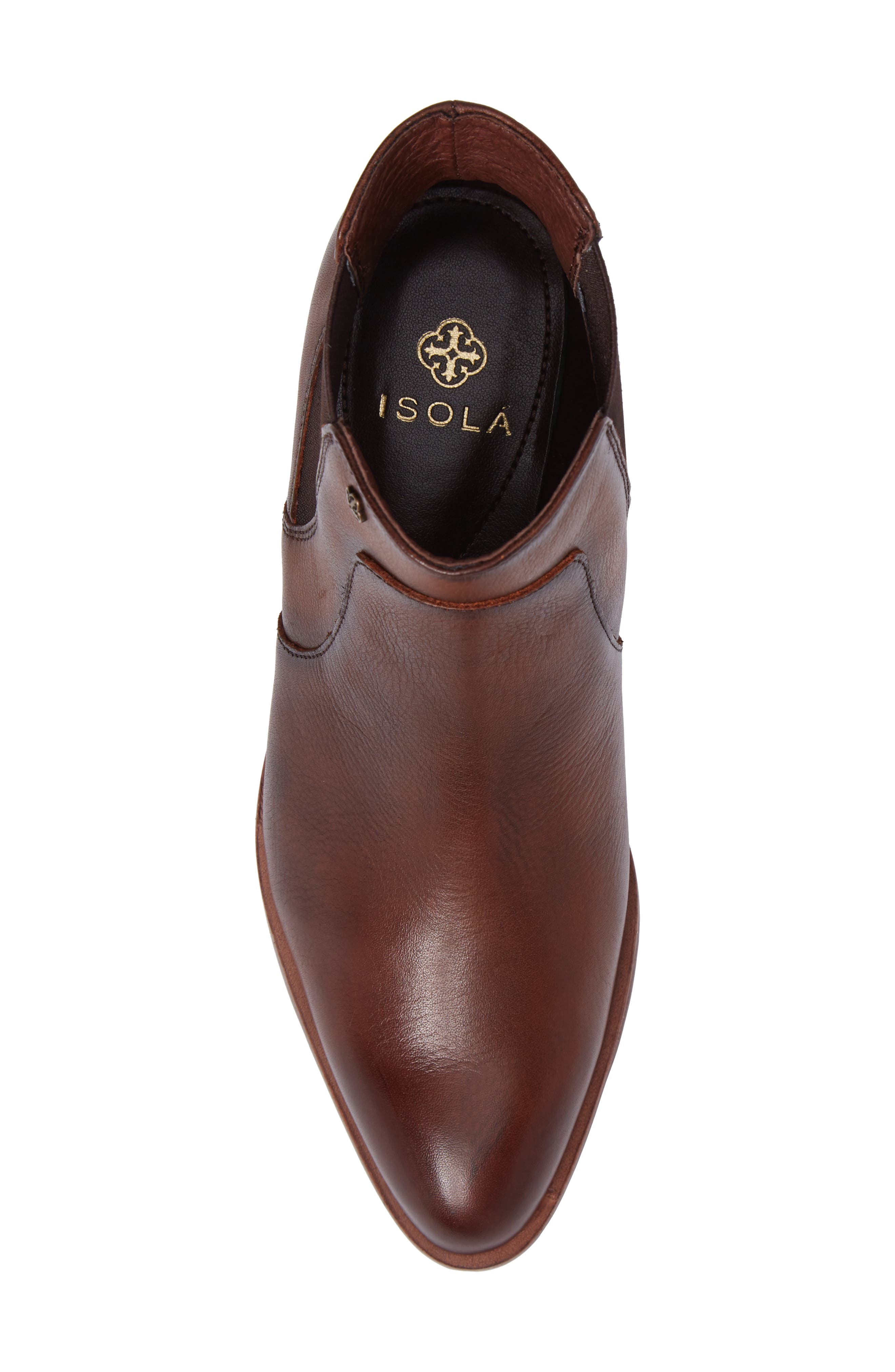 Mora Bootie,                             Alternate thumbnail 5, color,                             Whiskey Leather