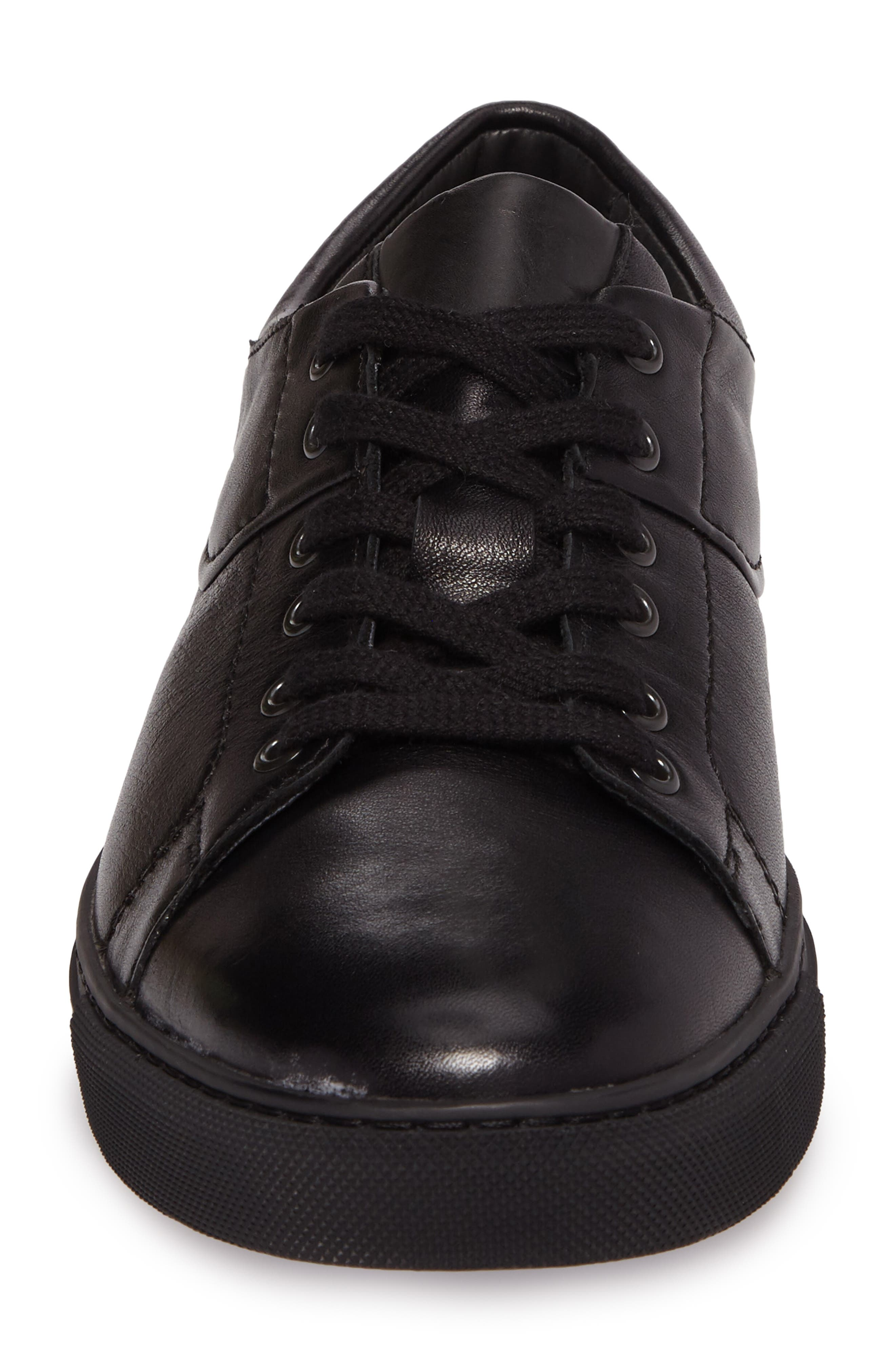 Adamson Sneaker,                             Alternate thumbnail 4, color,                             Black