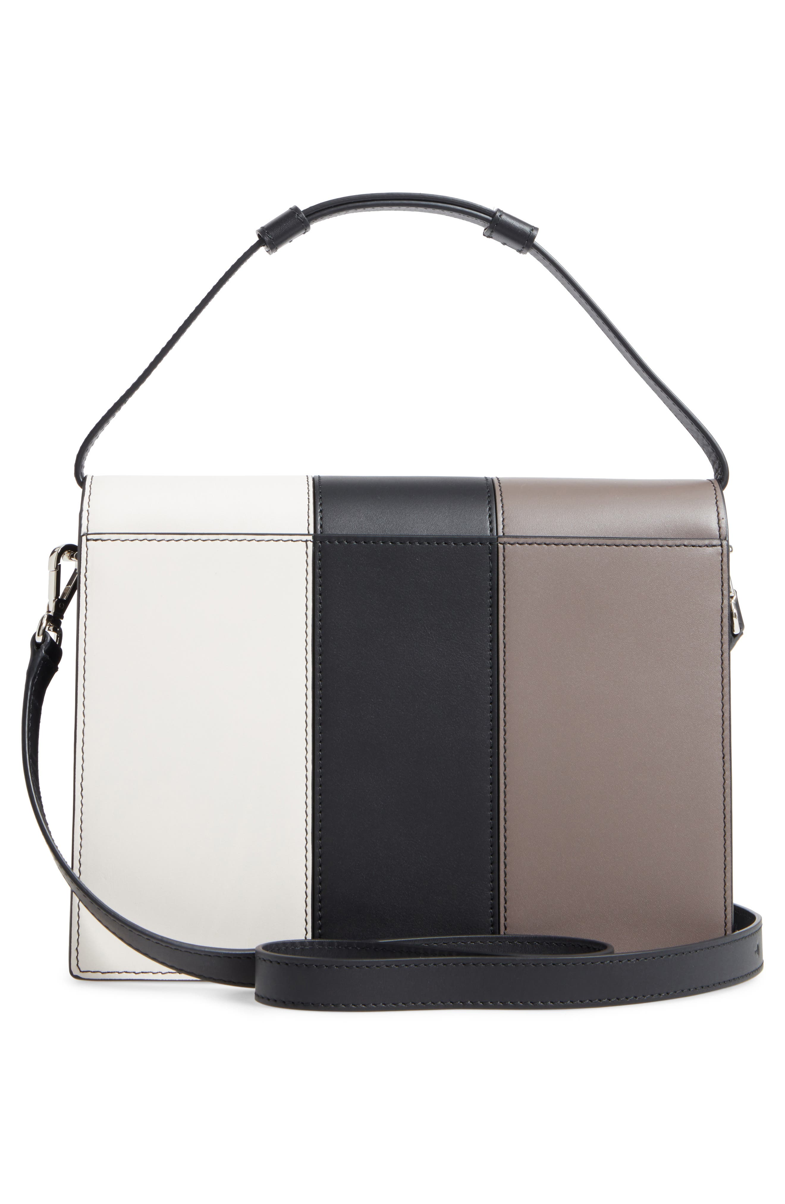 Alternate Image 2  - Max Mara Patchwork Butterfly Calfskin Leather Top Handle Satchel